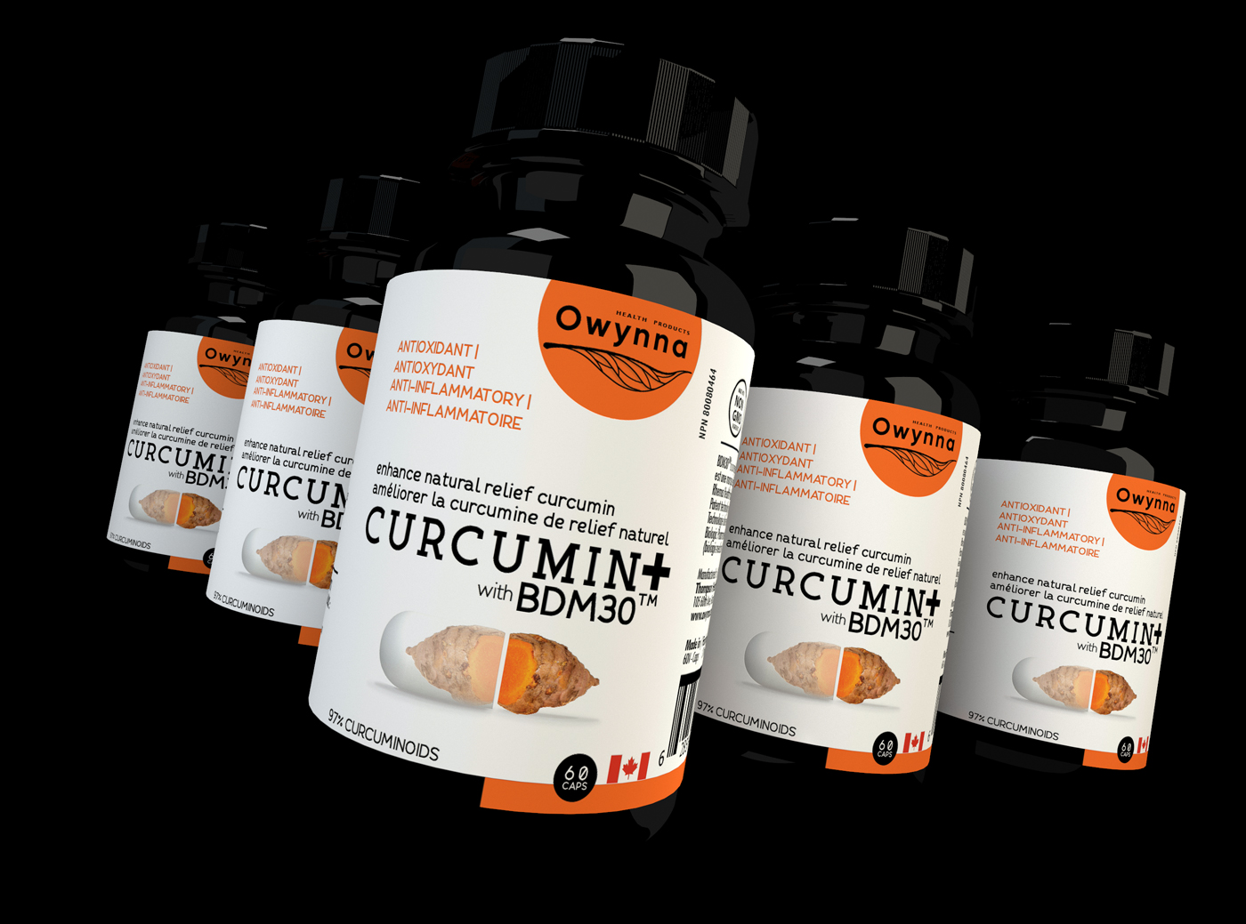 Healthy Lifestyle With New Canadian Curcumin Supplement