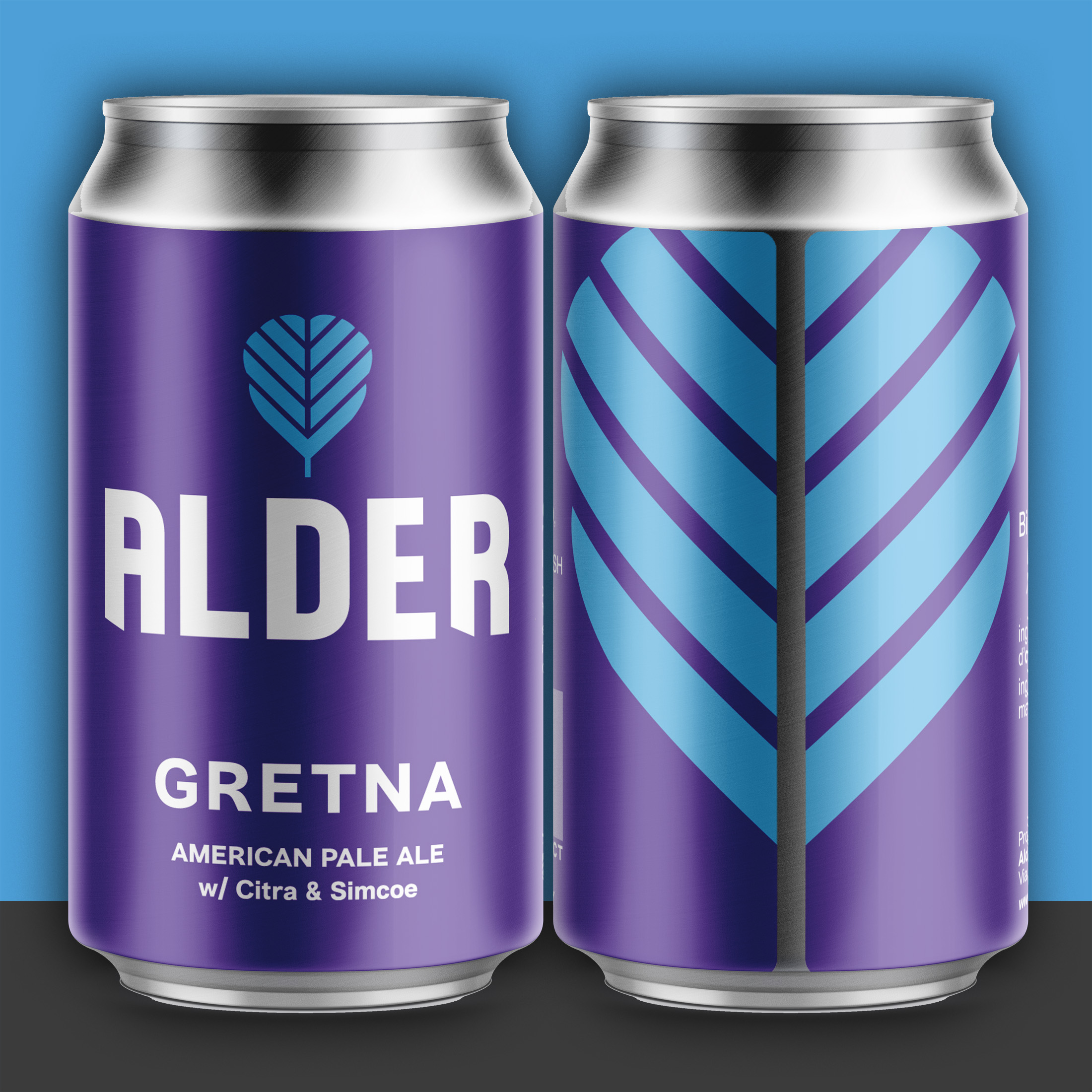 ByVolume Creates Brand Identity and Packaging Design for Alder Beer Co.
