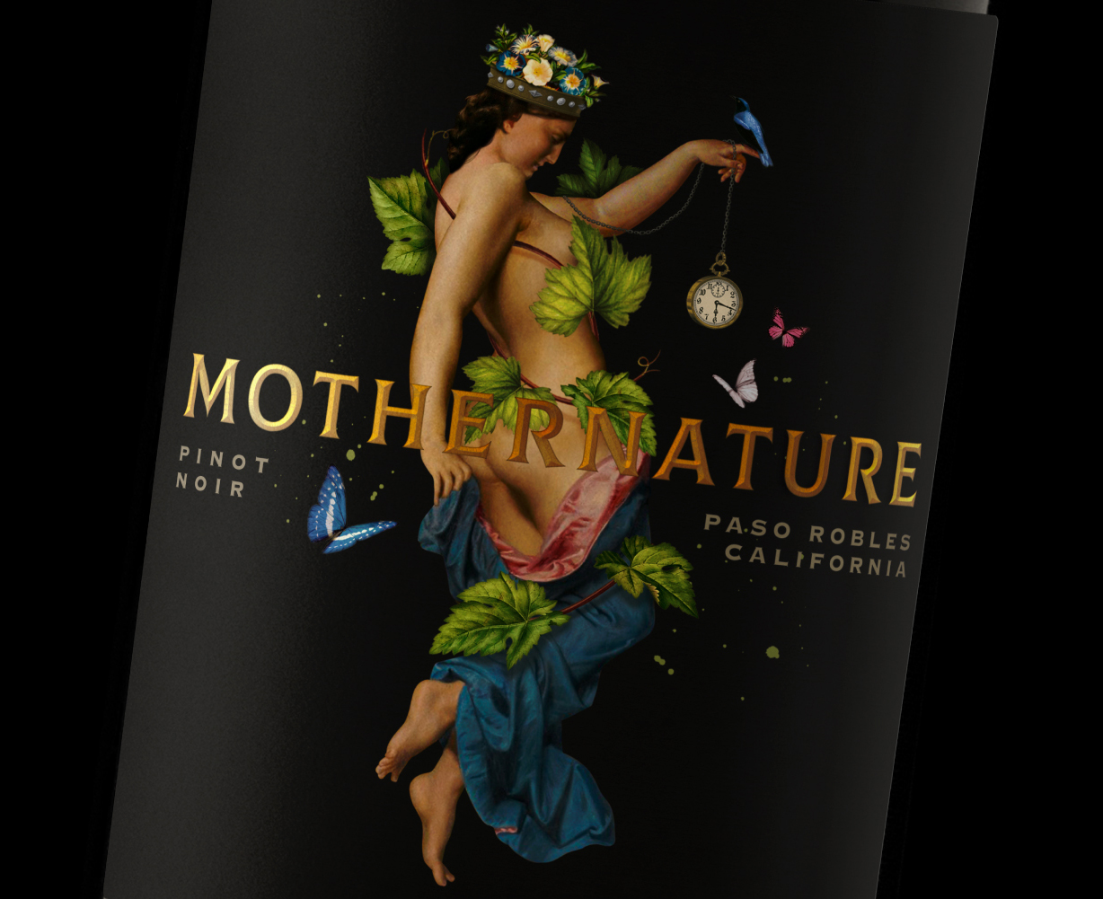 A Tribute to Women and Nature on This American Wine Label