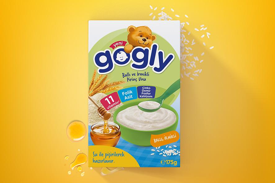 Gogly Rice Flour by Orhan Irmak Tasarim