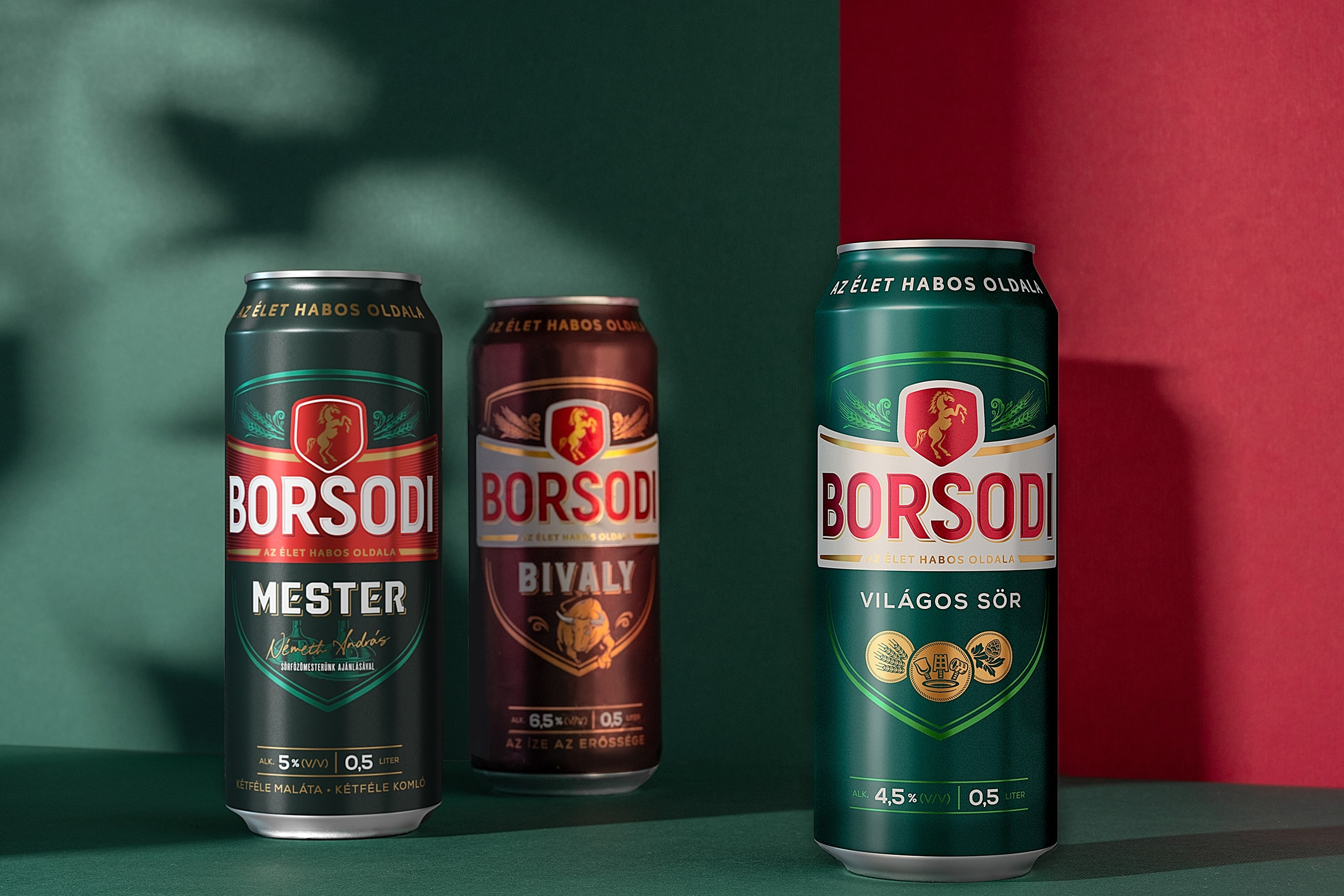 Cocoon's Redesign of Hungarian Favorite Beer Borsodi