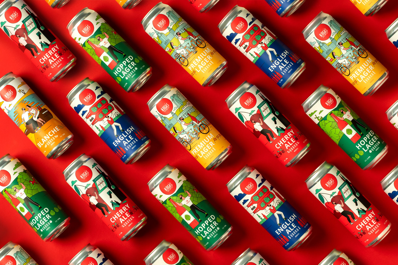 UNBLVBL Creates Varka Craft Beer Label Design
