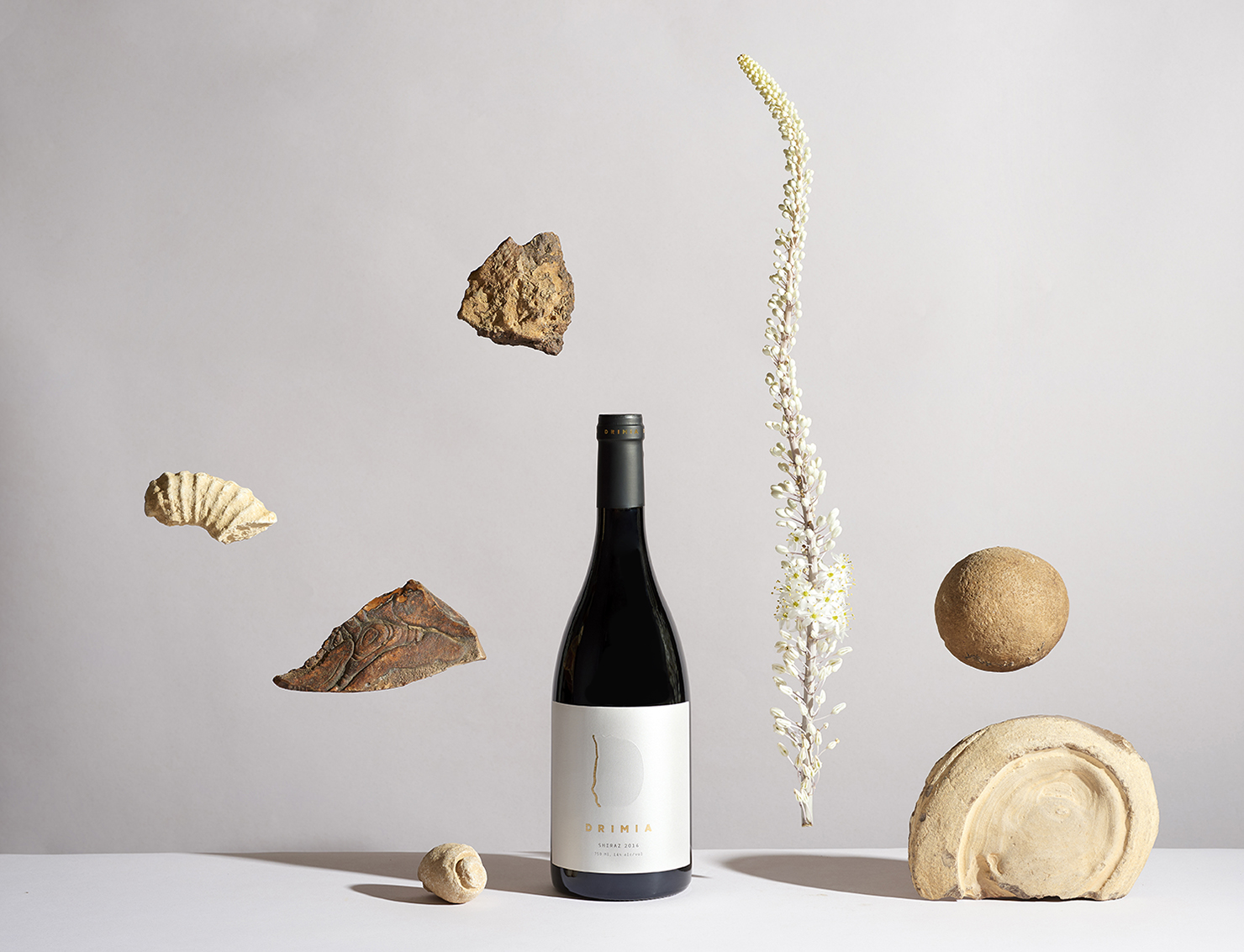 Dov Kroll and Dekel Maimon's Create New Visual Language for Drimia Winery