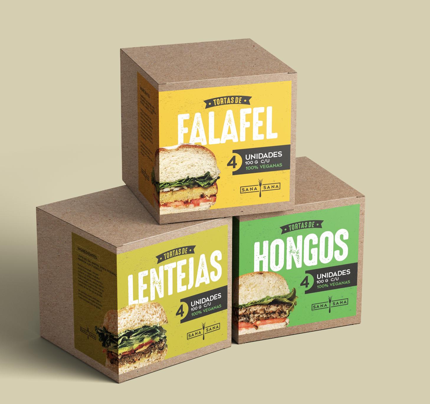 Gitanos Created a Packaging Design for Sana Sana Restaurant