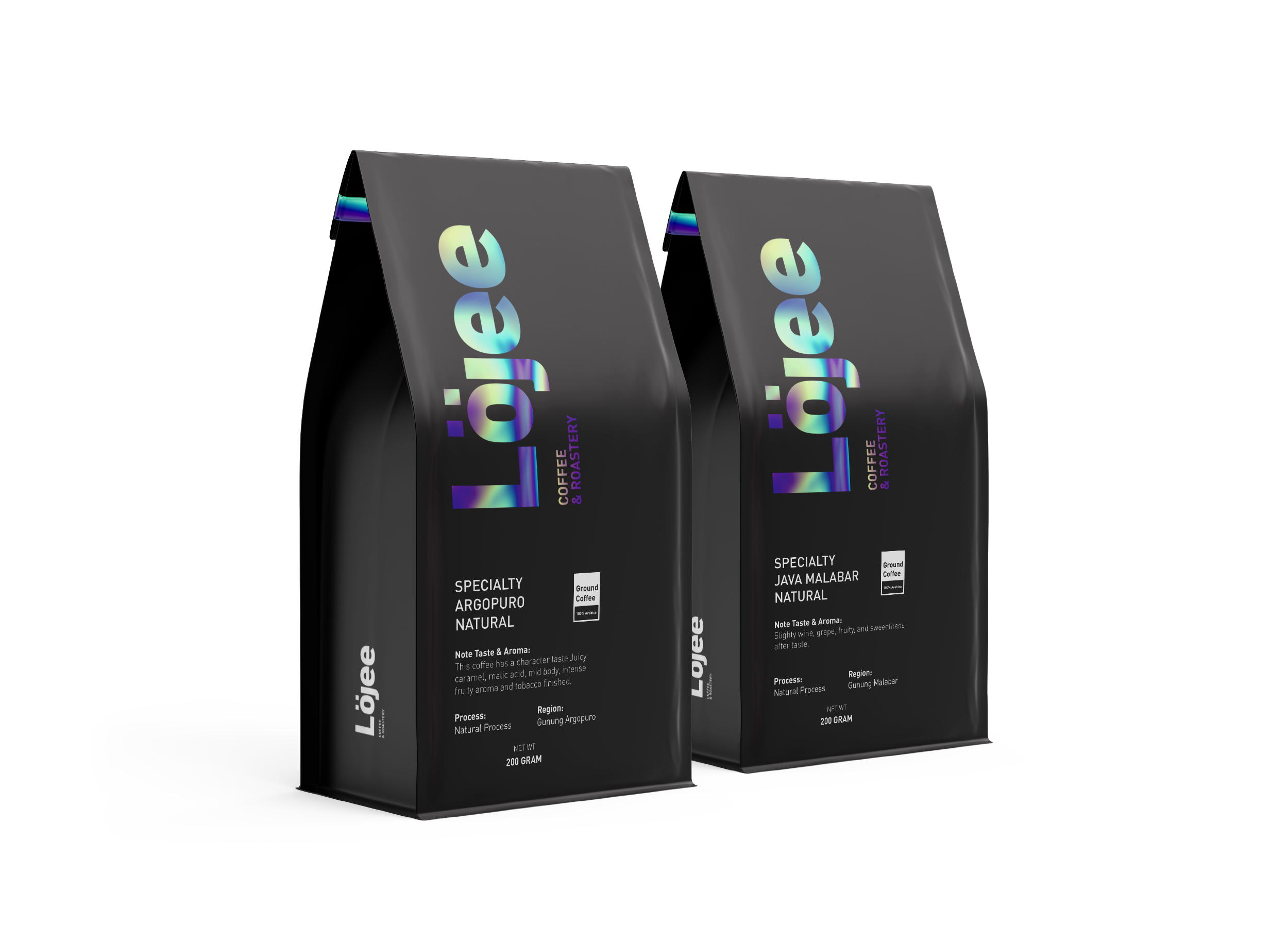 Widarto Impact Creating Coffee Packaging Design for Lojee Coffee & Roastery