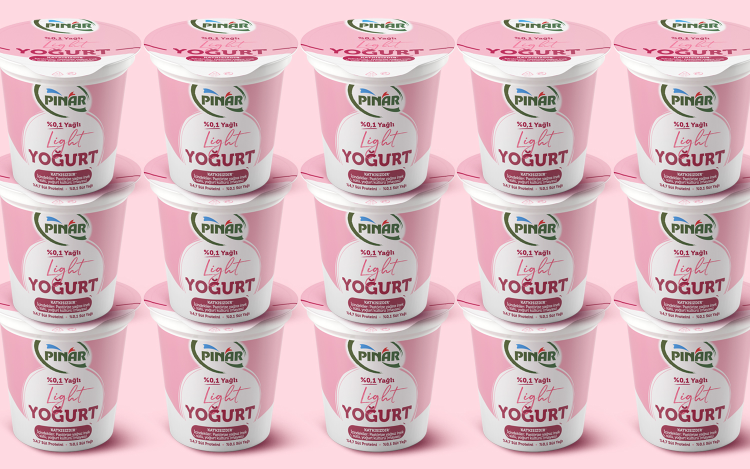 Pınar Light Yogurt Have Been Structured With the New Codes in Brand Architecture