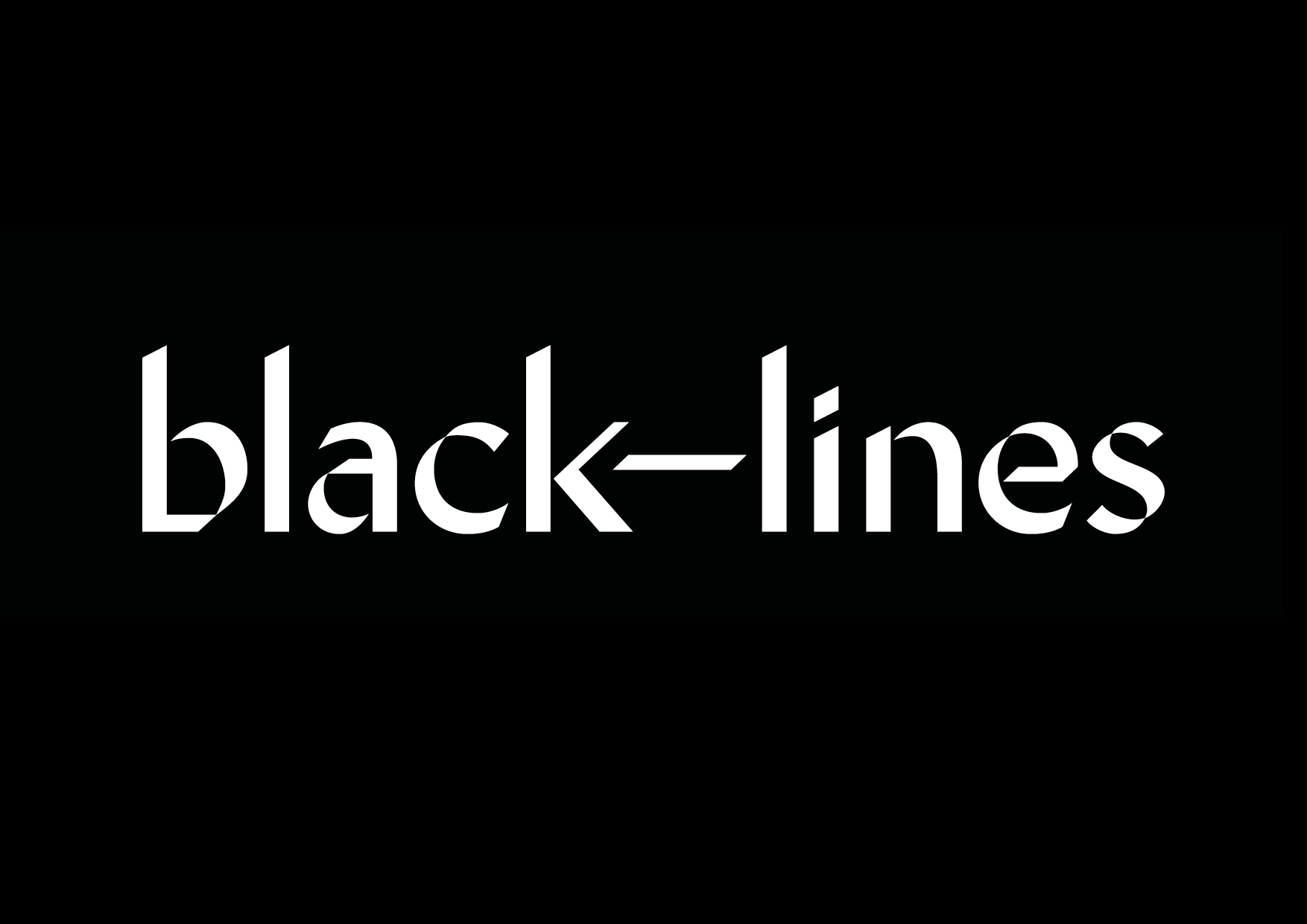 Black Lines Shakes Up the Cocktail Industry With New Brand Identity by & SMITH