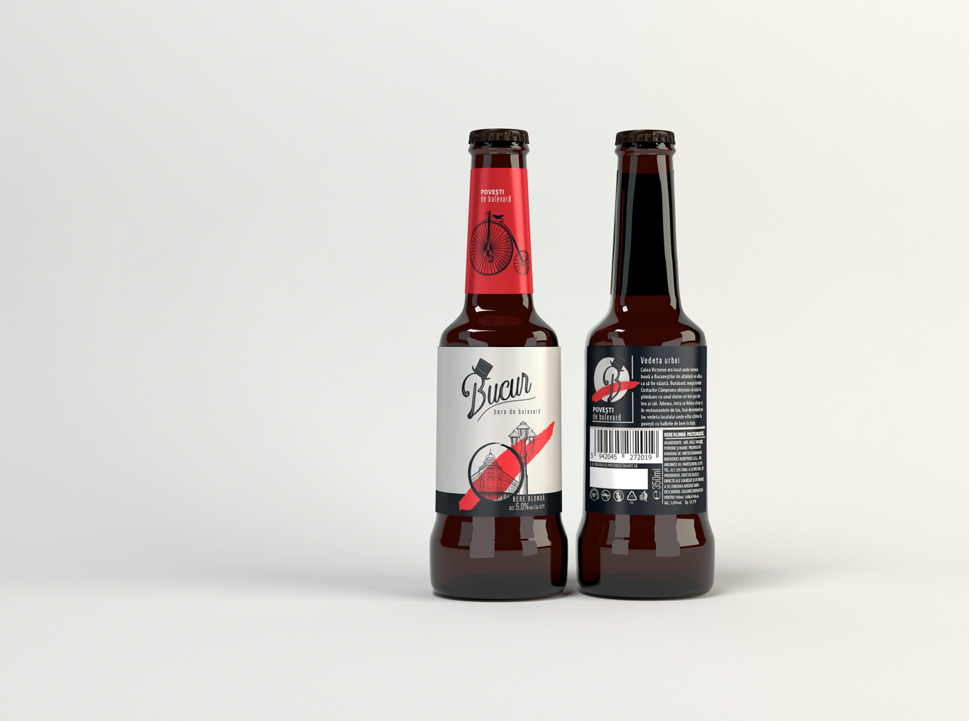 CreativeByDefinition Crafts Packaging Design for the New Beer Brand Bucur