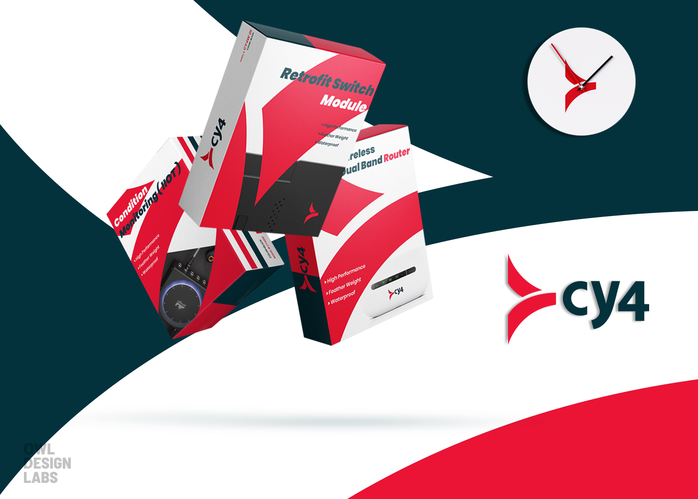 Owl Design labs Creates New Brand Identity System for CY4