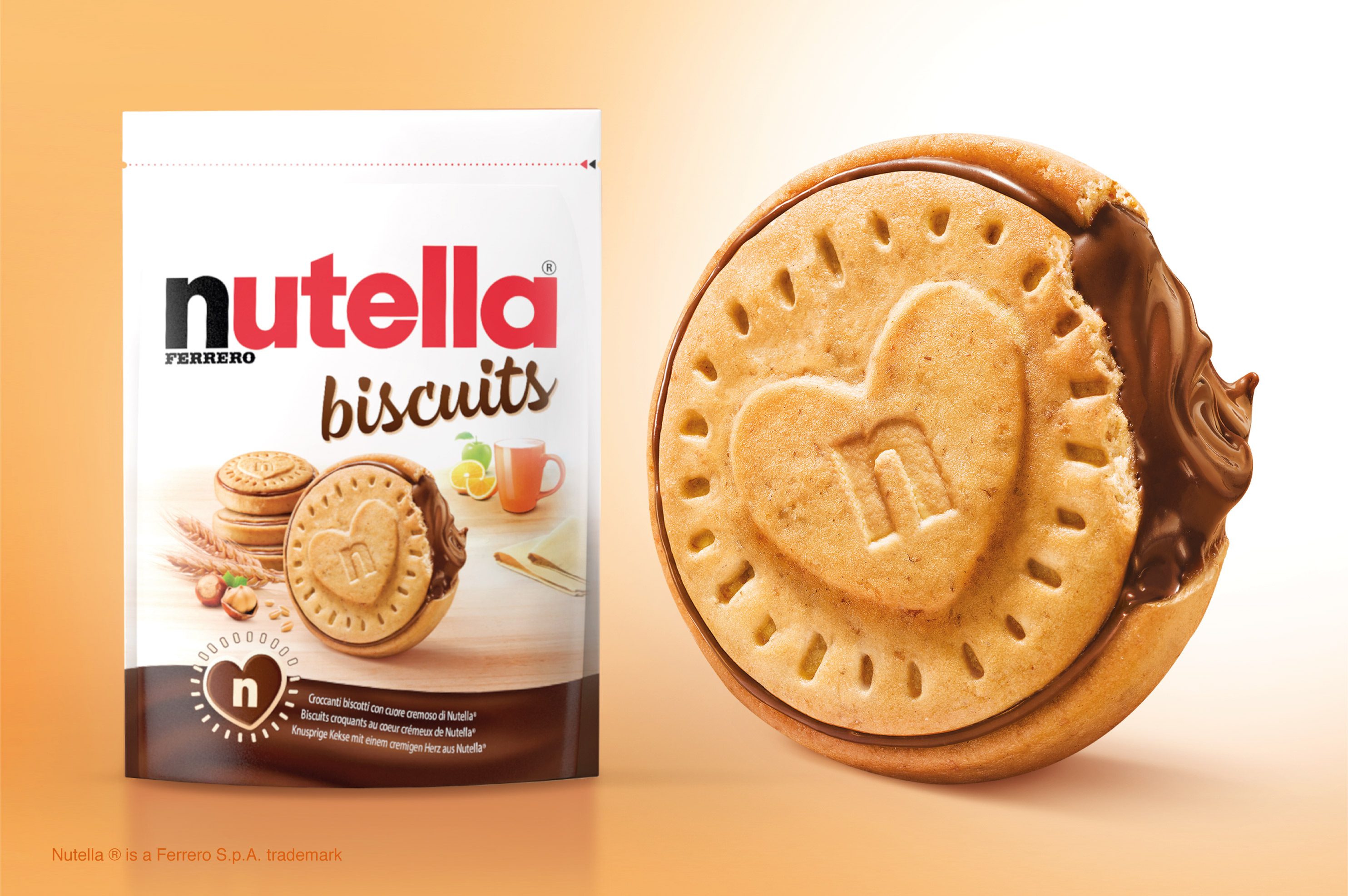 NEW Nutella Biscuits