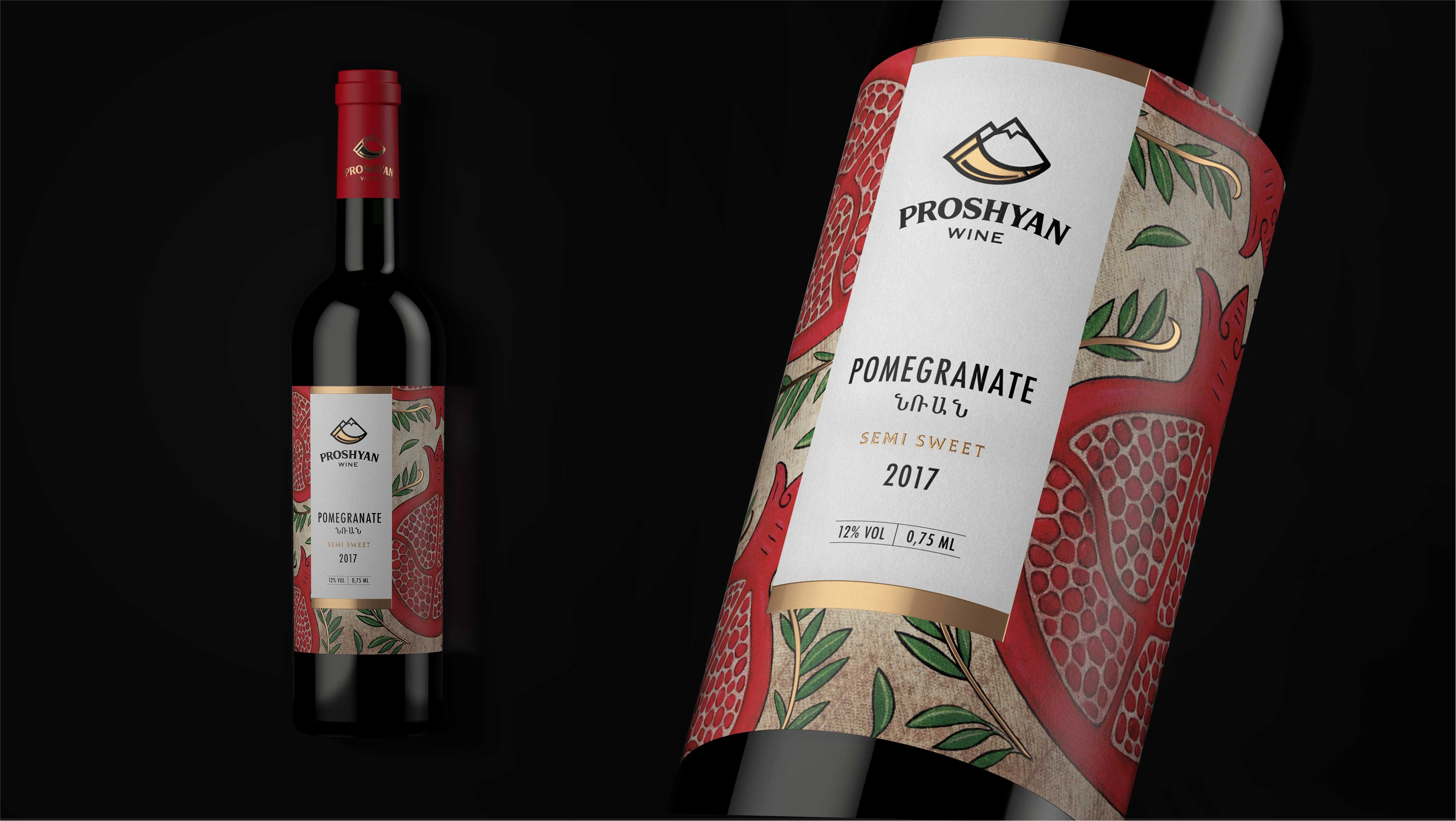 Proshyan Wines by Dochery Visual Solutions