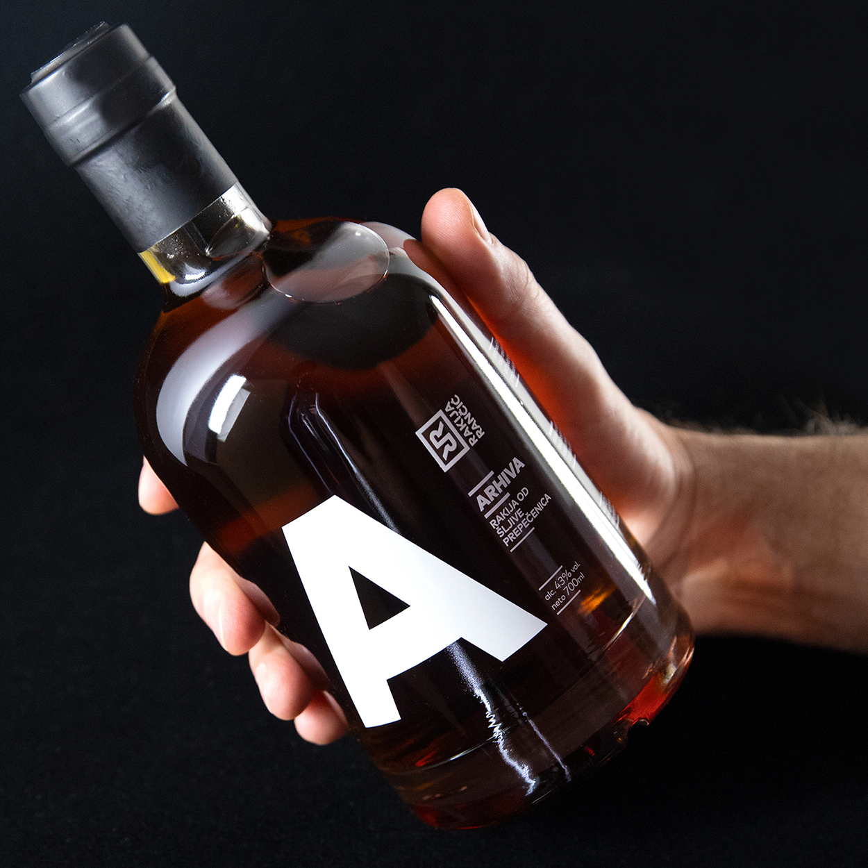 Comma Create Branding for Arhiva Plum Brandy