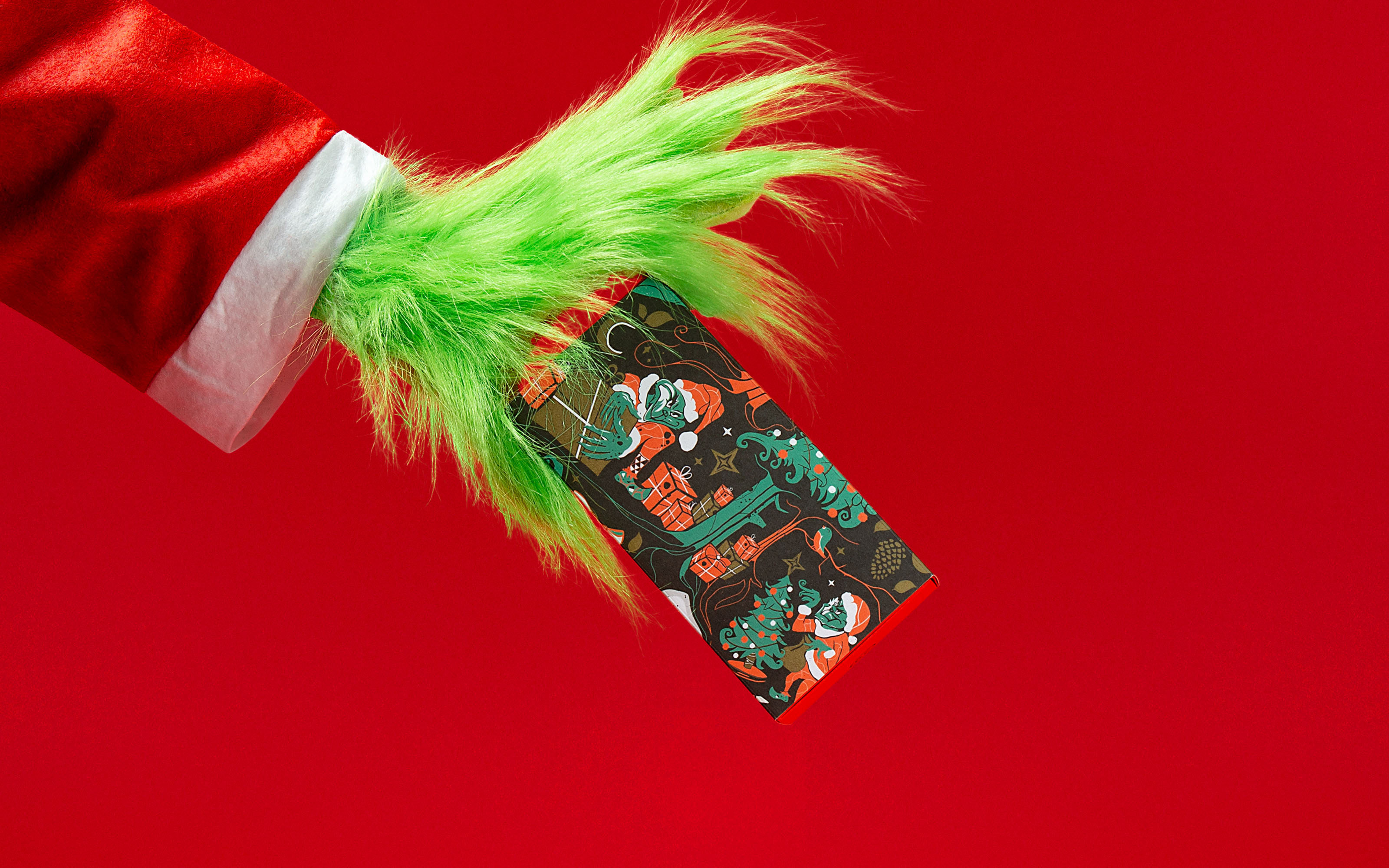 Robot Food channel their inner Grinch with a gift to steal this Christmas.