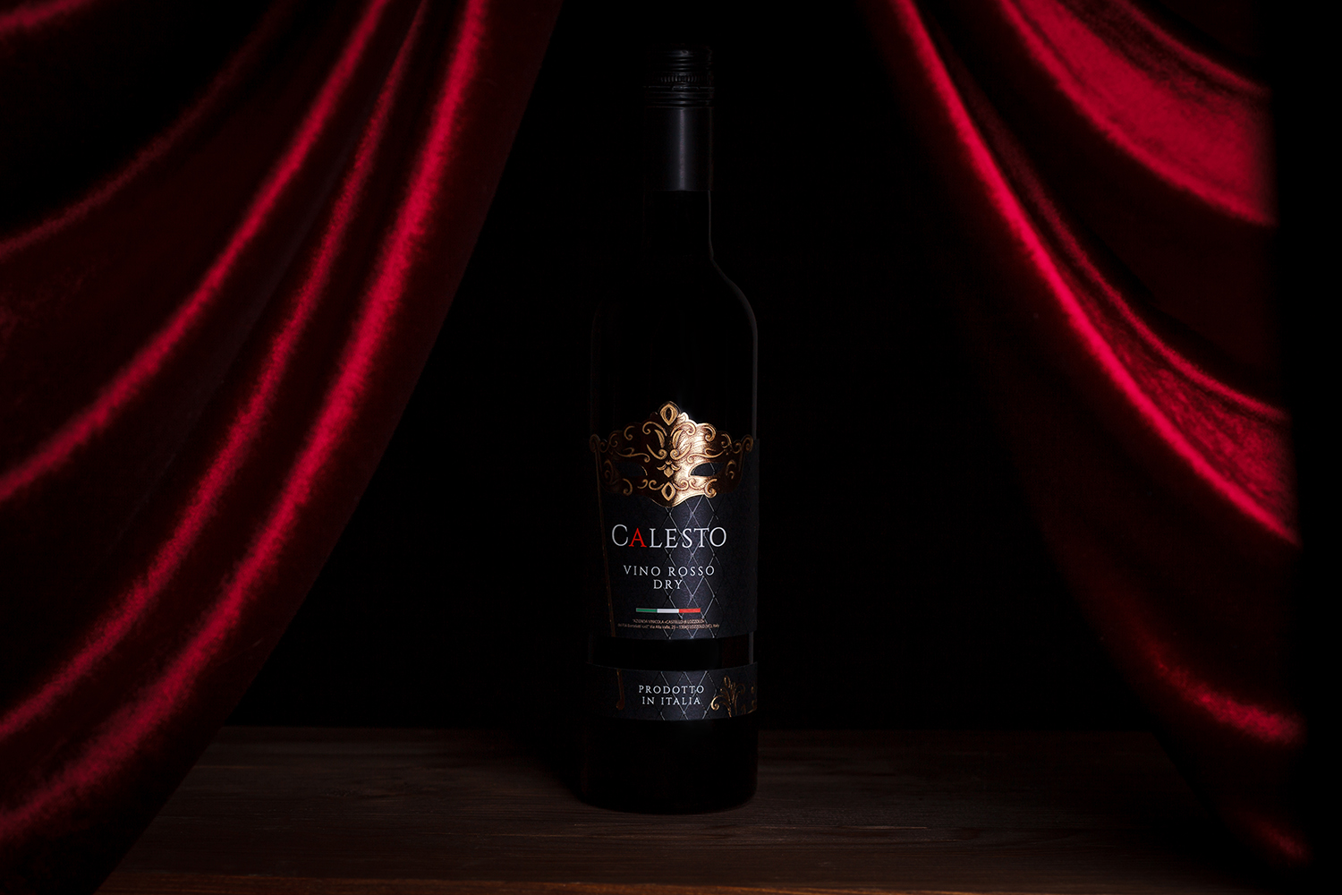 Italian Wine Label Design – Calesto