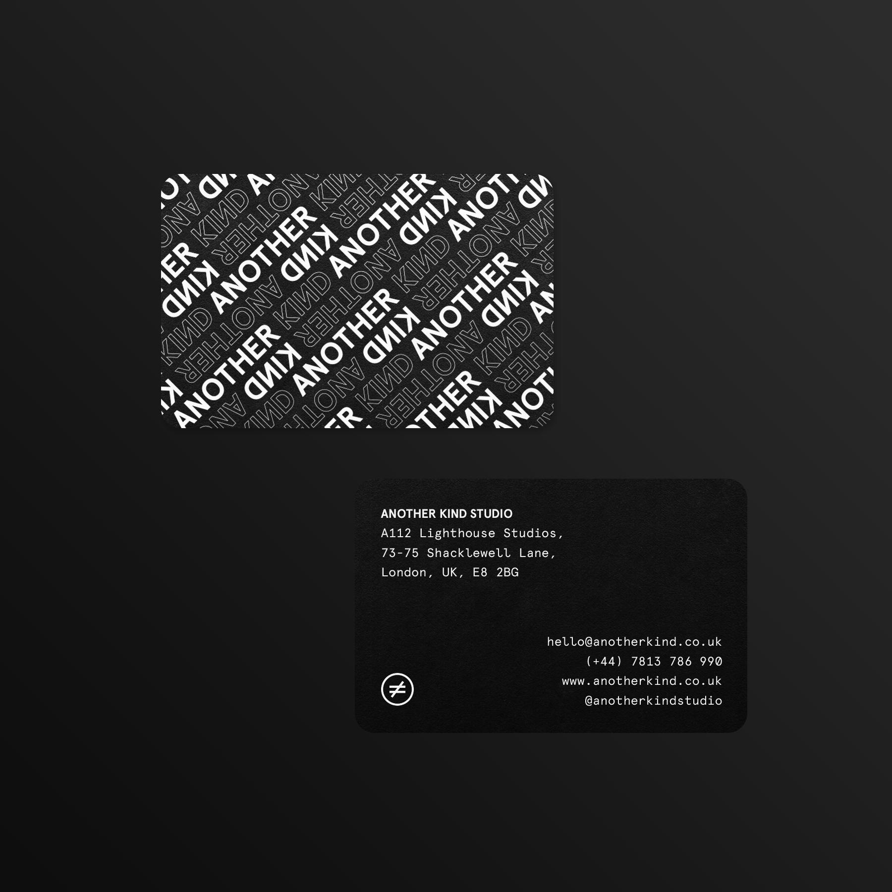 Another Kind Studio Brand Identity