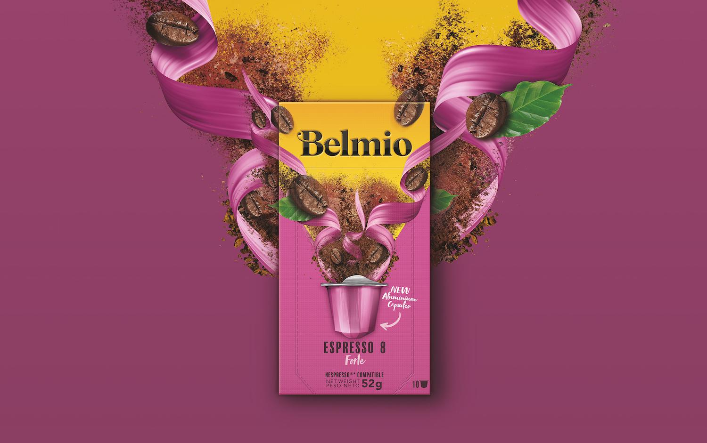 Belmio Coffee Capsules Relaunch