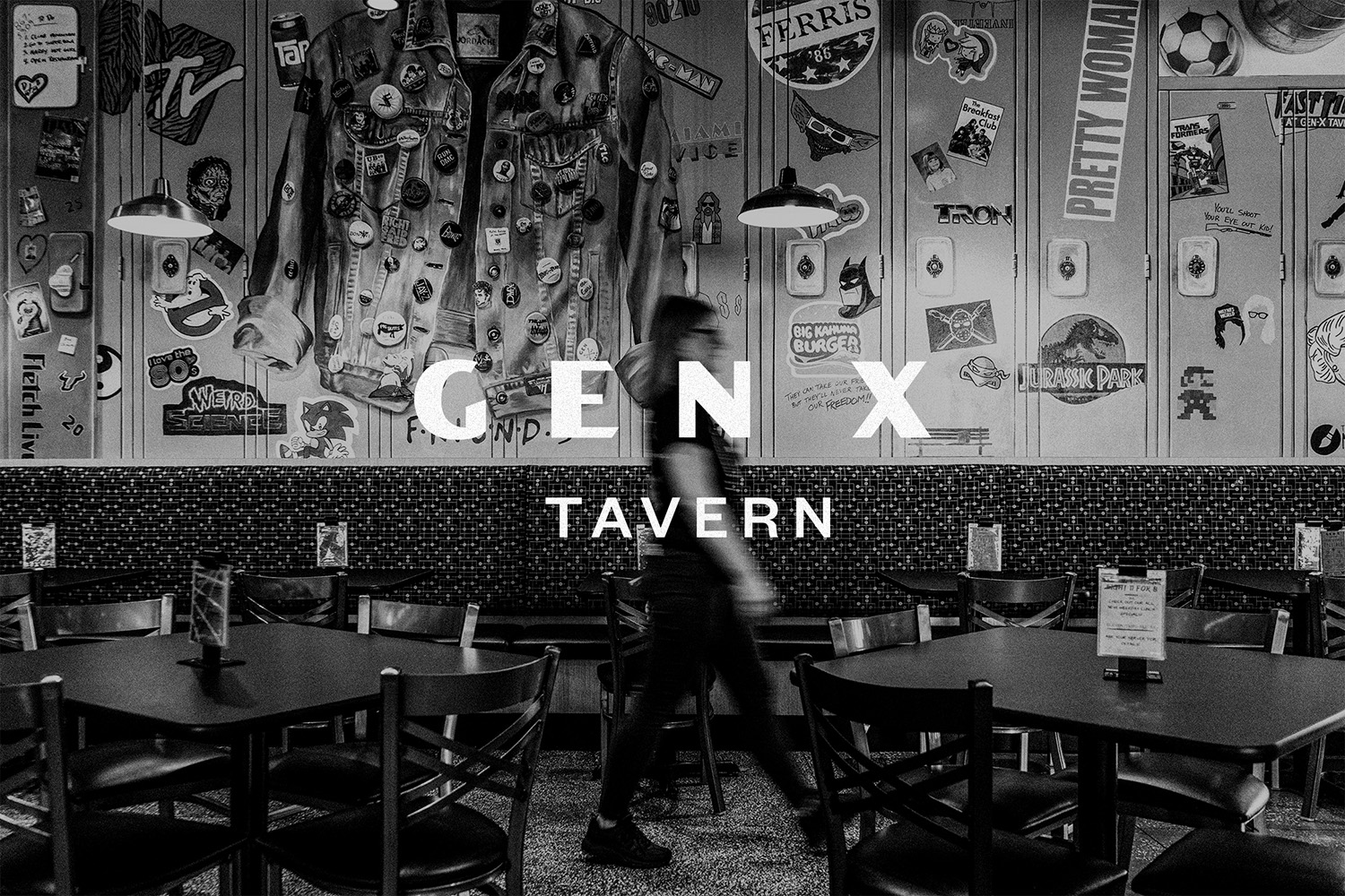 Hype Group Designs Throwback Brand for Tampa's Gen X Tavern