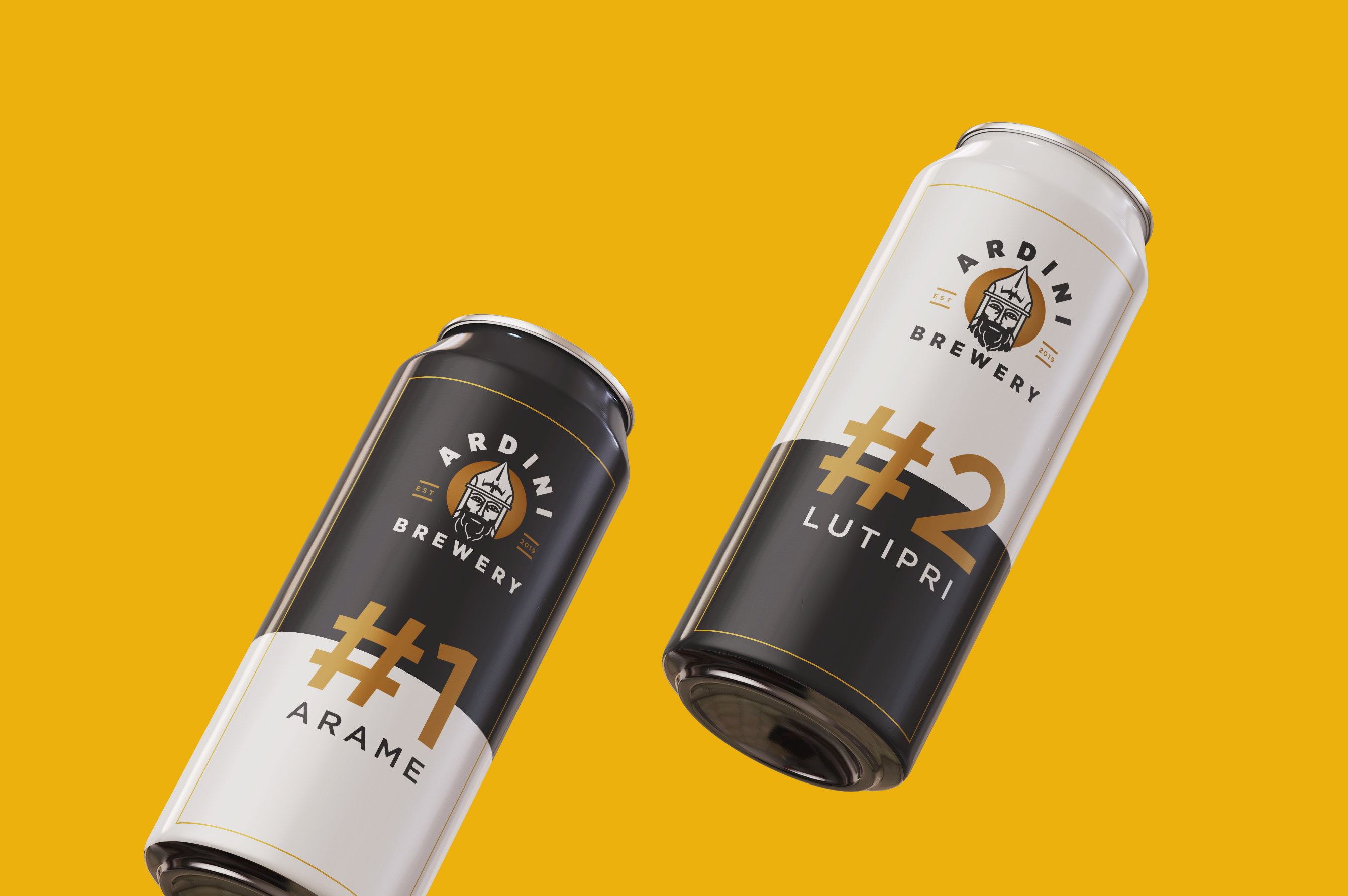Branding and Package Design for Ardini Brewery