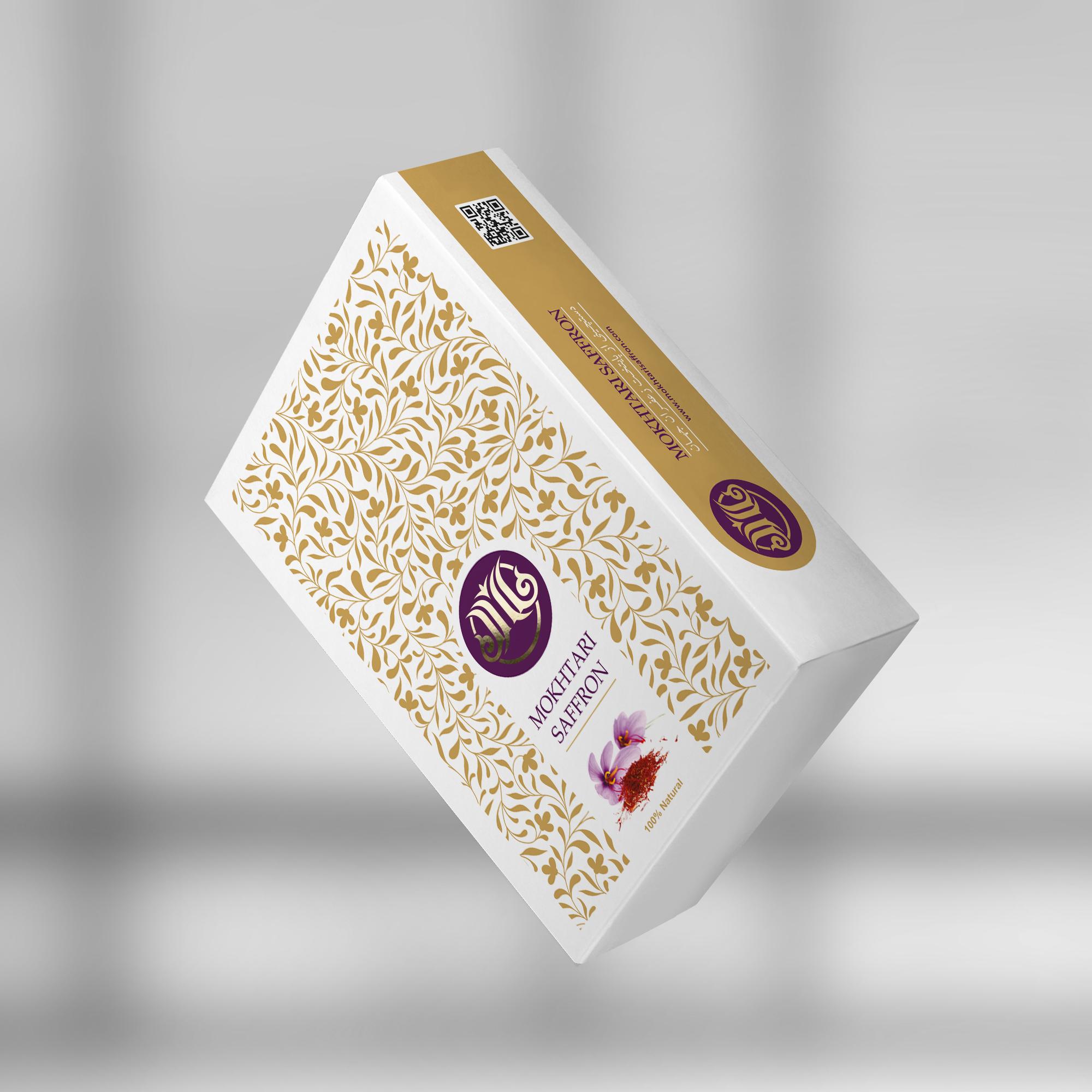 Packaging For Mokhtari Saffron