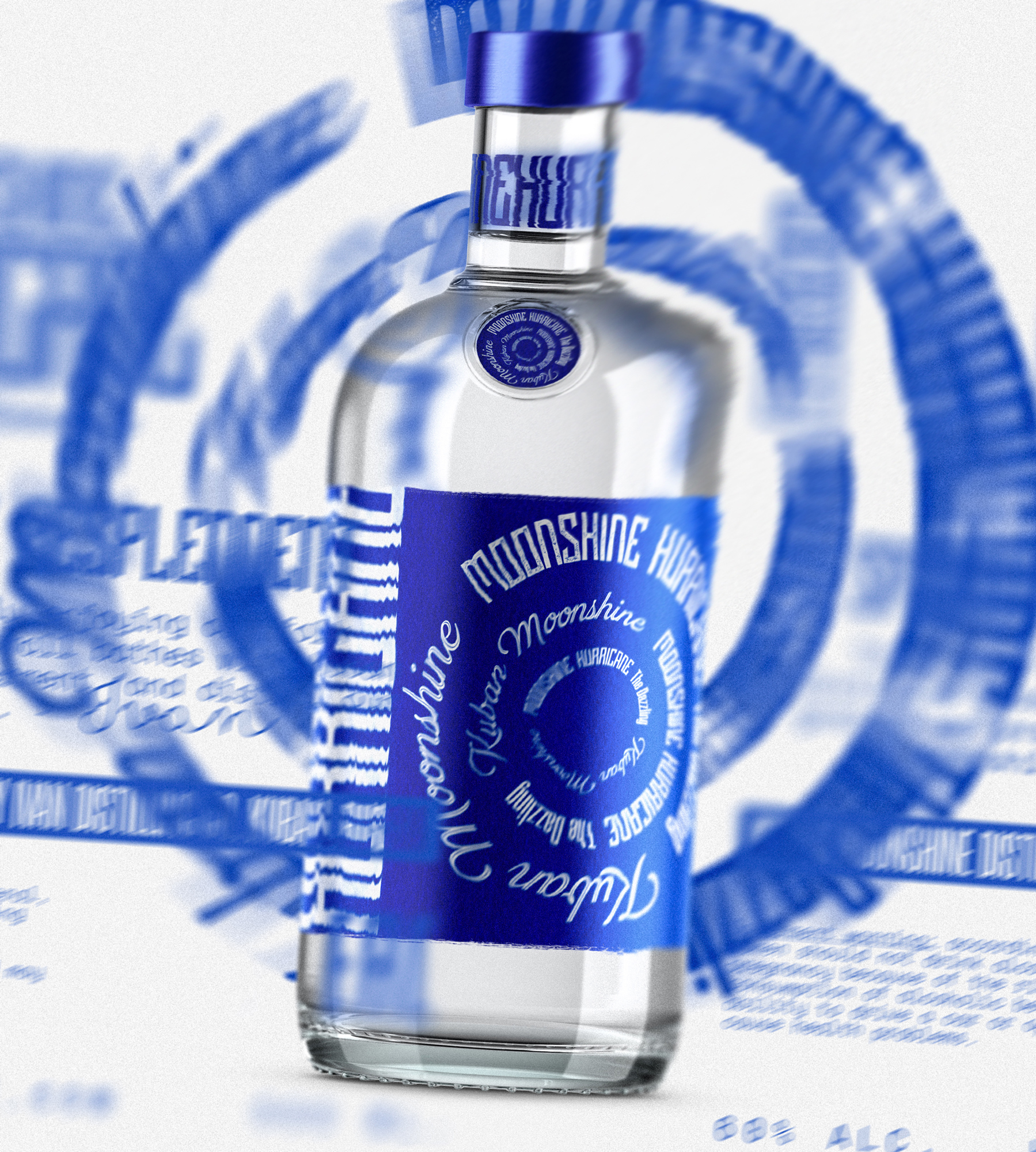 Label Design and Identity for Russian Moonshine