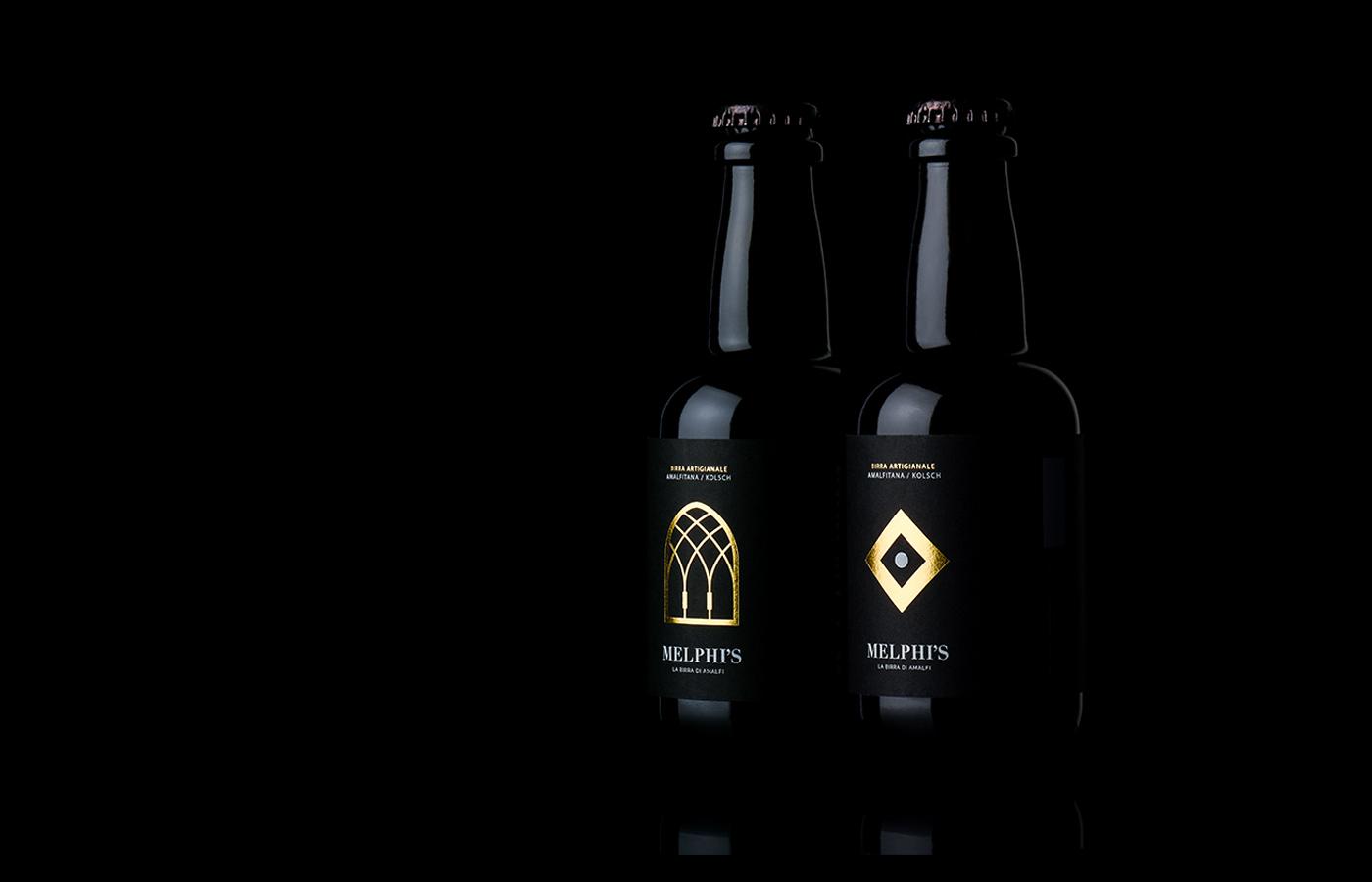 Agency Design – Melphi's Authentic Beer of Amalfi