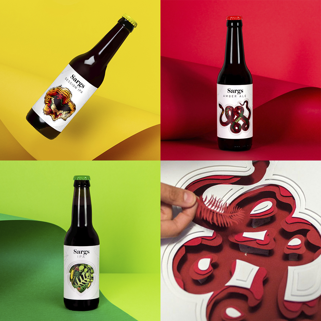 Beer Label Design: Sargs