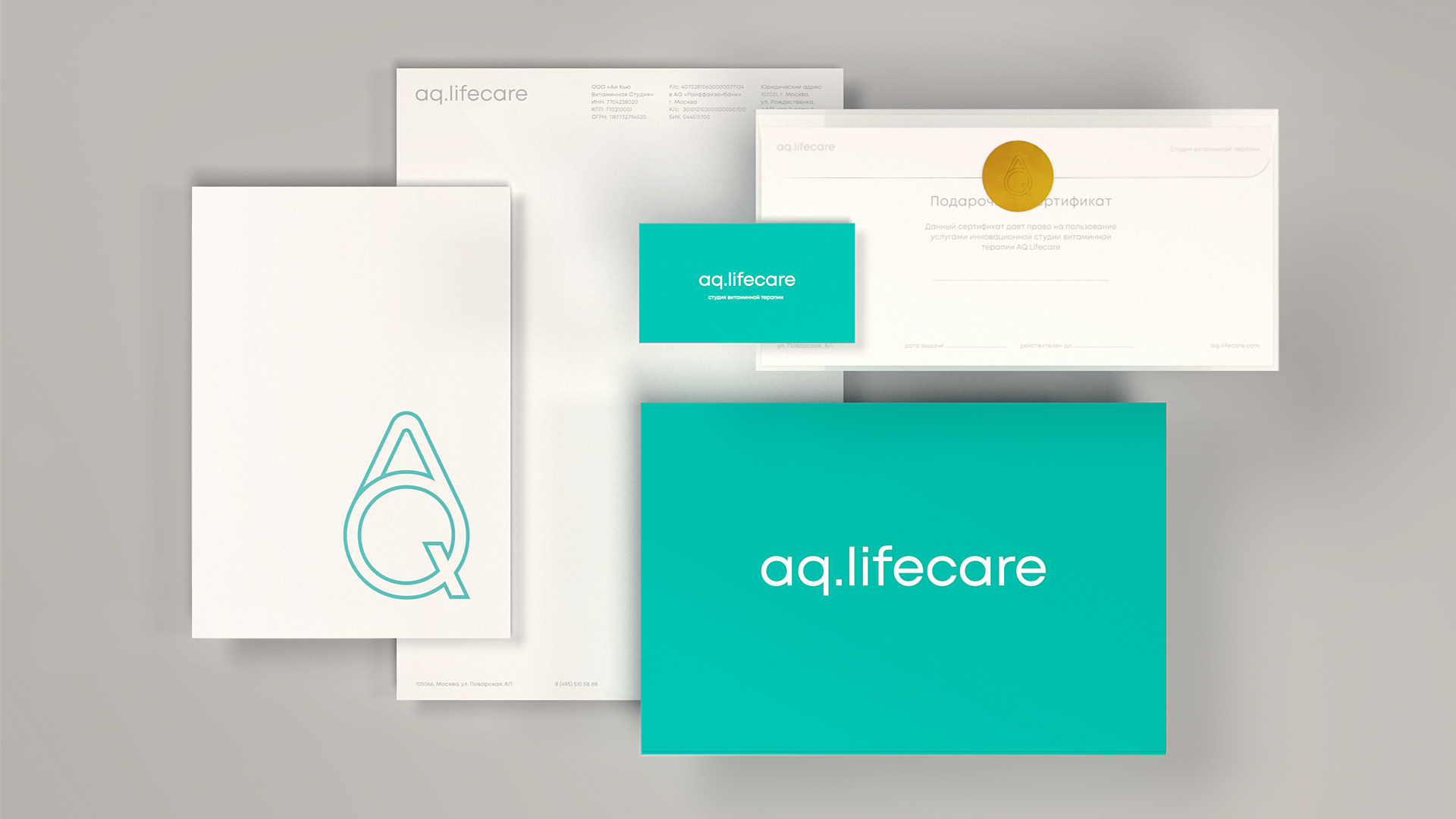 Brand Identity For An Innovative Vitamin Clinic In Moscow by FREE.creative