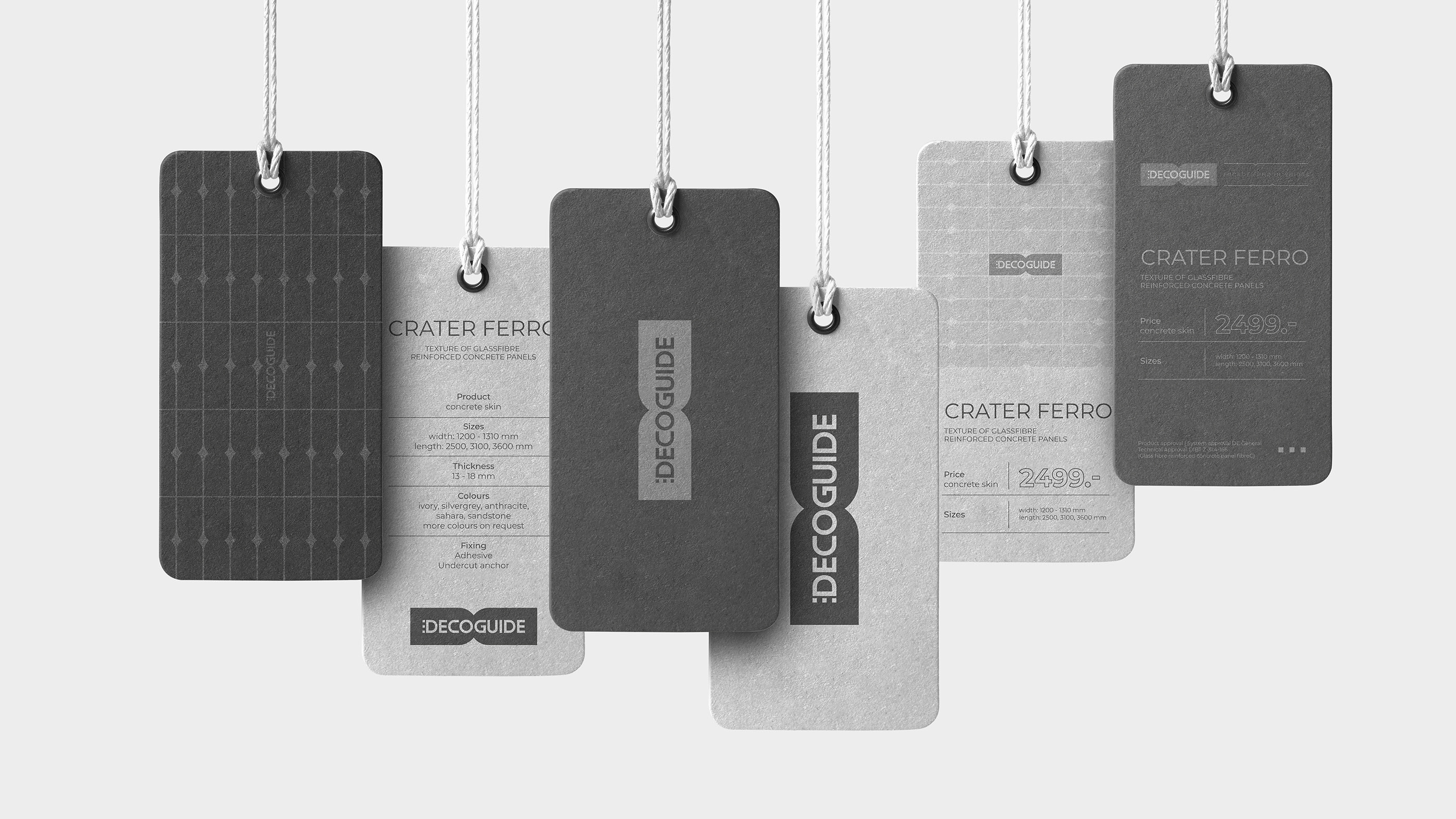 Identity for a Manufacturer of Fiberglass Concrete Architectural Elements