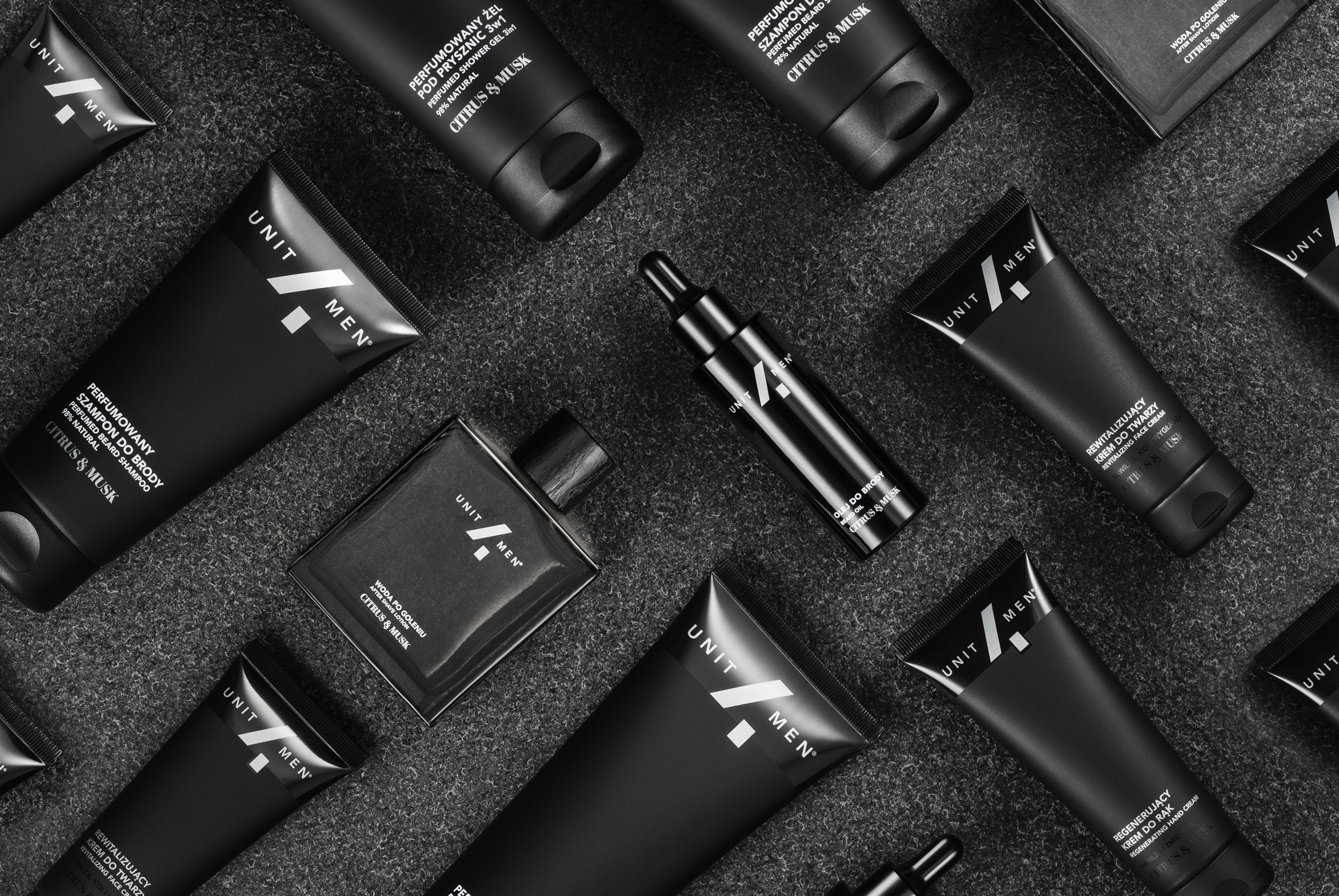 Unit4Men is a Polish Brand of Natural and Vegan Premium Cosmetics for Men
