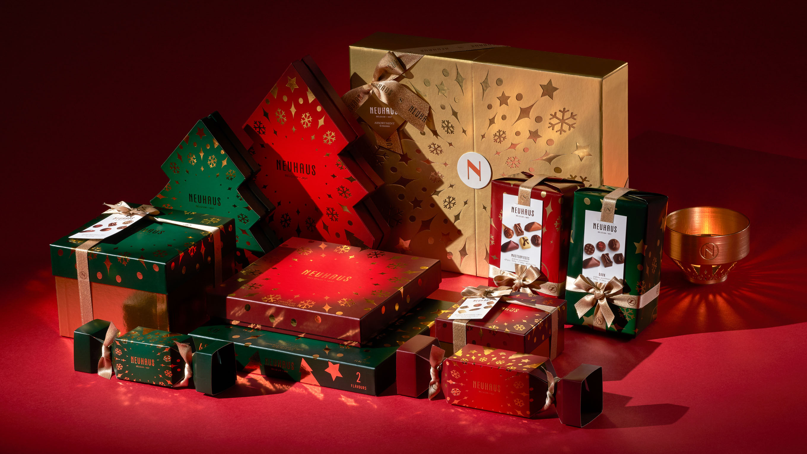 The Branding of Neuhaus' Heartwarming Holidays Collection by WeWantMore