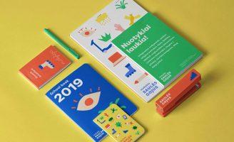 "IMAGINE Brand Identity Agency – ""Saules Gojus"" Kindergarten and School Branding"