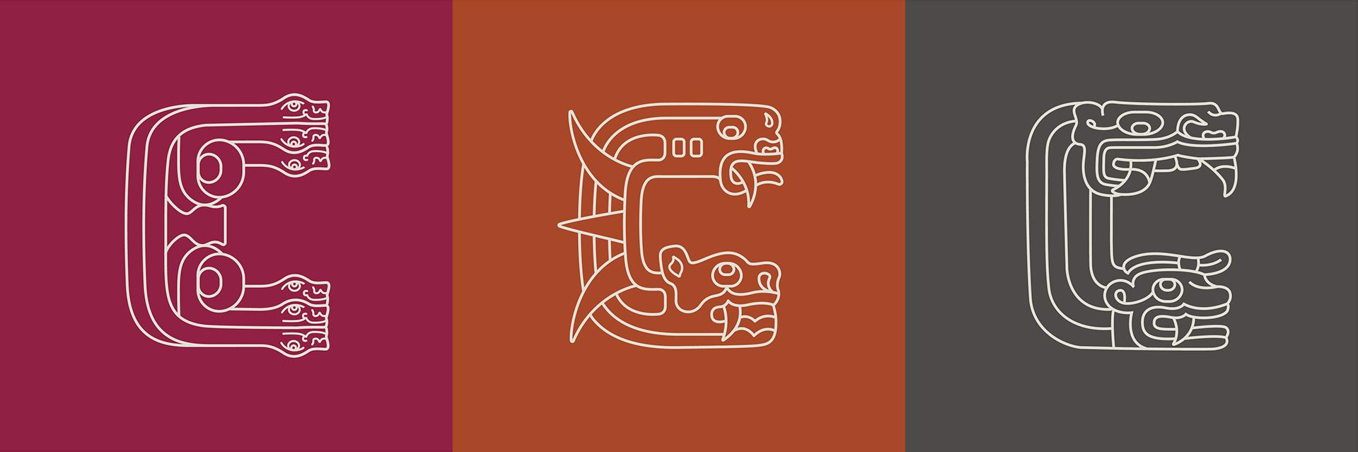 Visual identity for Chavin, ancient Peruvian Culture