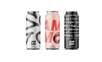 Ammo Craft Beer Branding and Identity by Hannah Tempany, Swinburne University Of Technology
