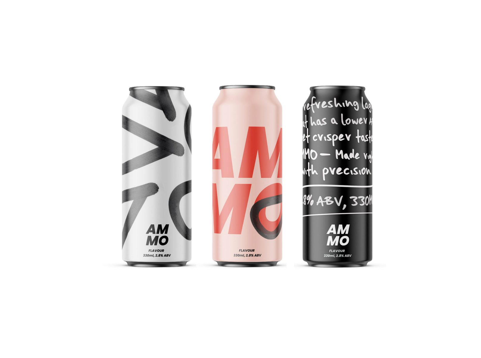 Ammo Craft Beer Branding and Identity by Hannah Tempany, Swinburne University Of Technology