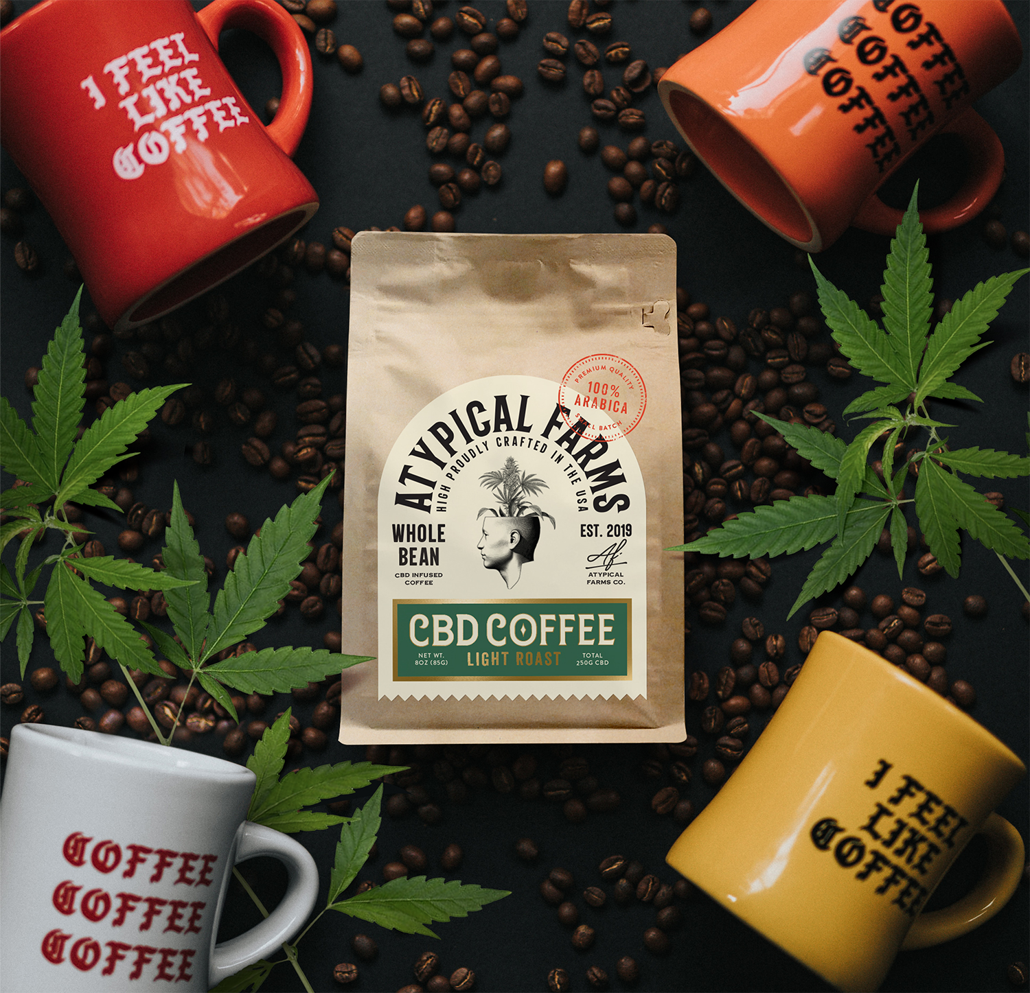 Atypical Farms – CBD Coffee