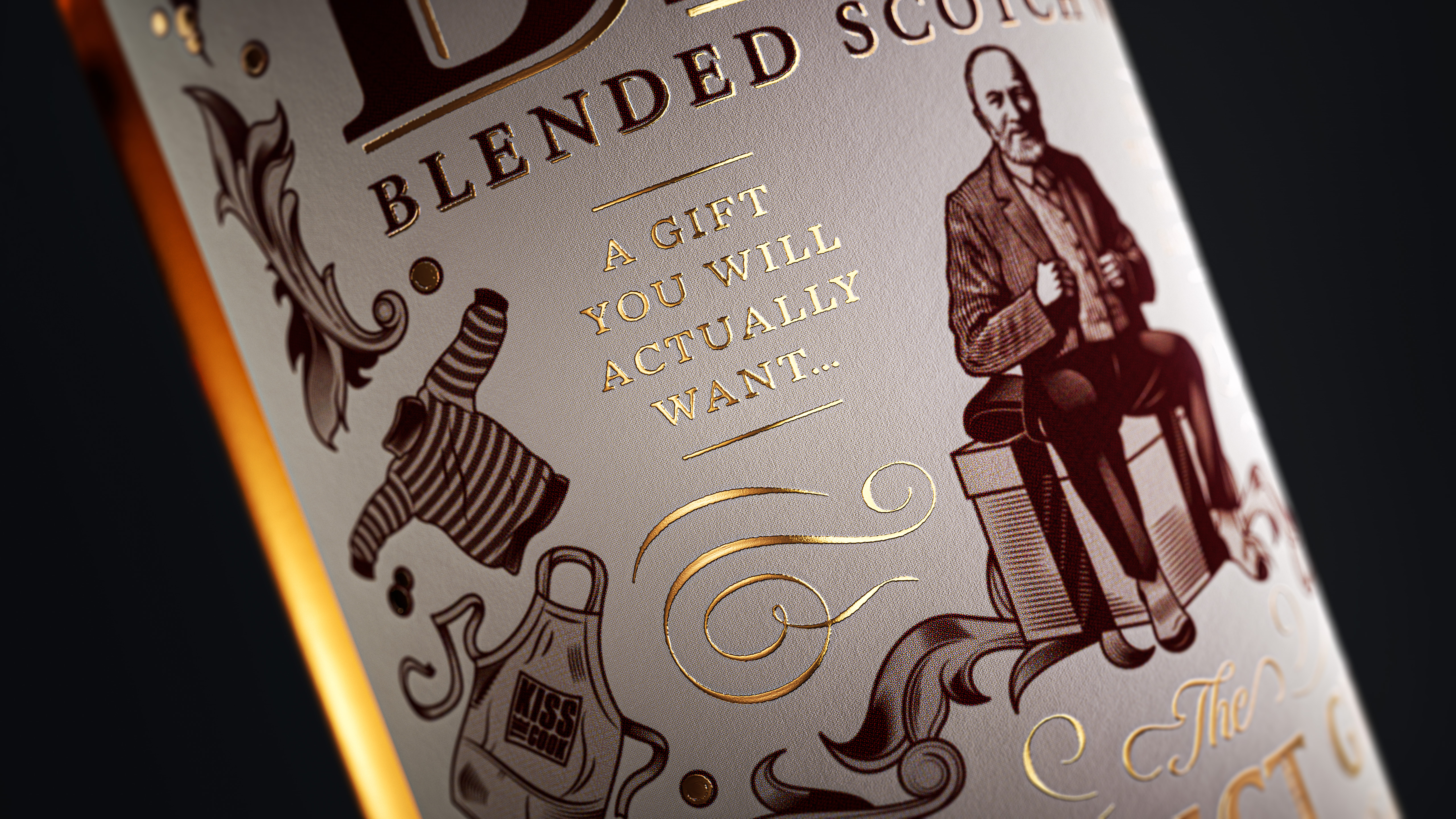 Vault49 Designs New Gift Packaging for Bell's Whisky