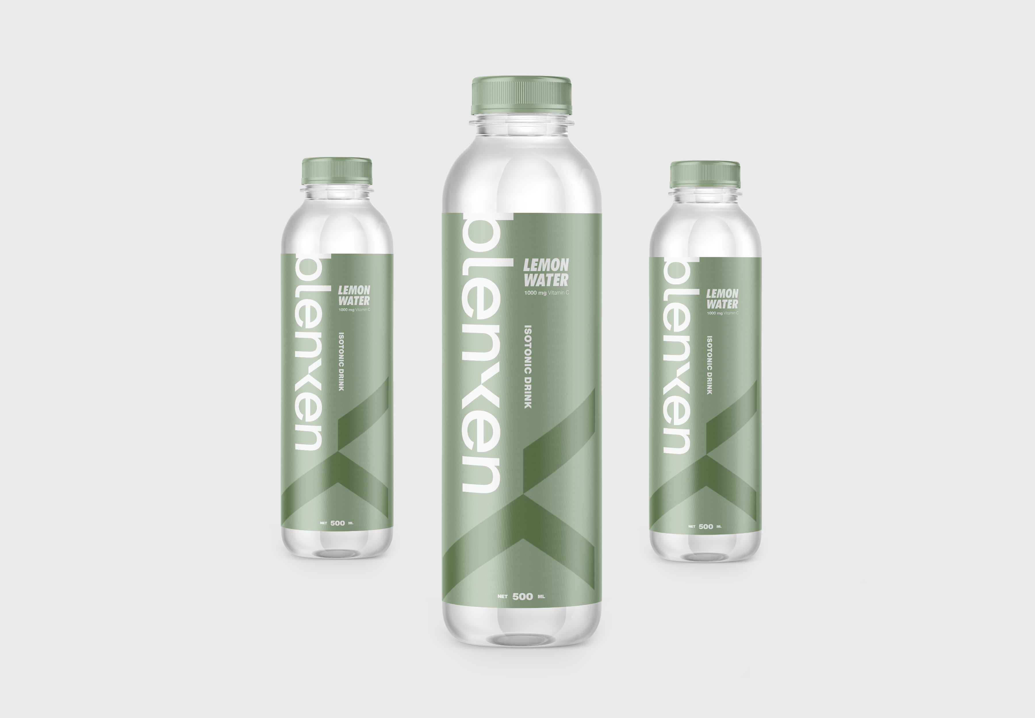 Widarto Impact Creating Design for Blenxen Isotonic Drink Bottle and Can Packaging