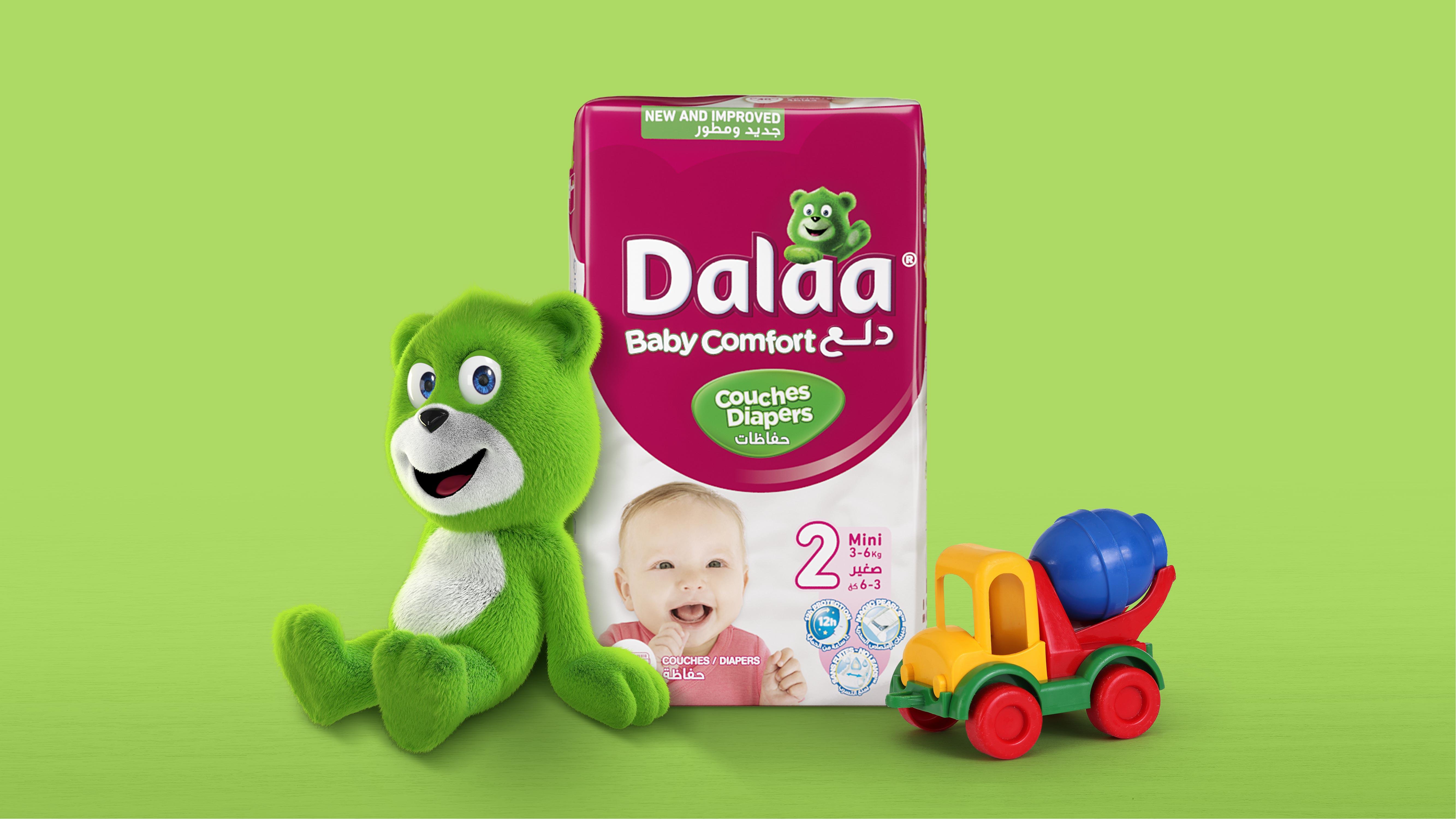 Pointbleu Design Developed New 3D-Renders for Dalaa's Mascot