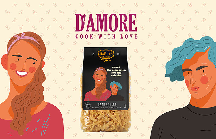 D'amore Pasta From Italy to Thailand. Pasta for Pasta Lover