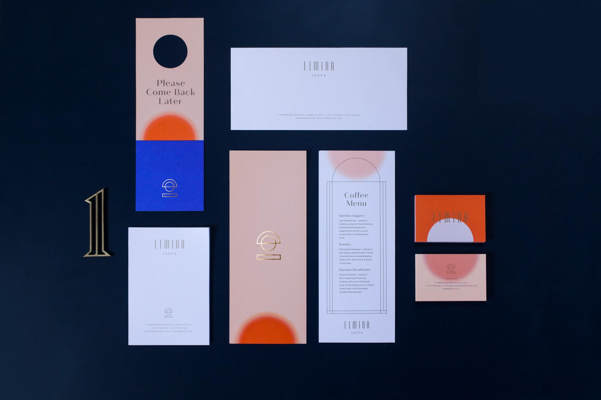News: Ark Visual and Dov Kroll Unveil Brand Identity of Jaffa's New Elmina Hotel