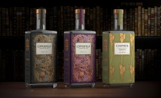 Nude Brand Creation – The Surrey Copper Distillery