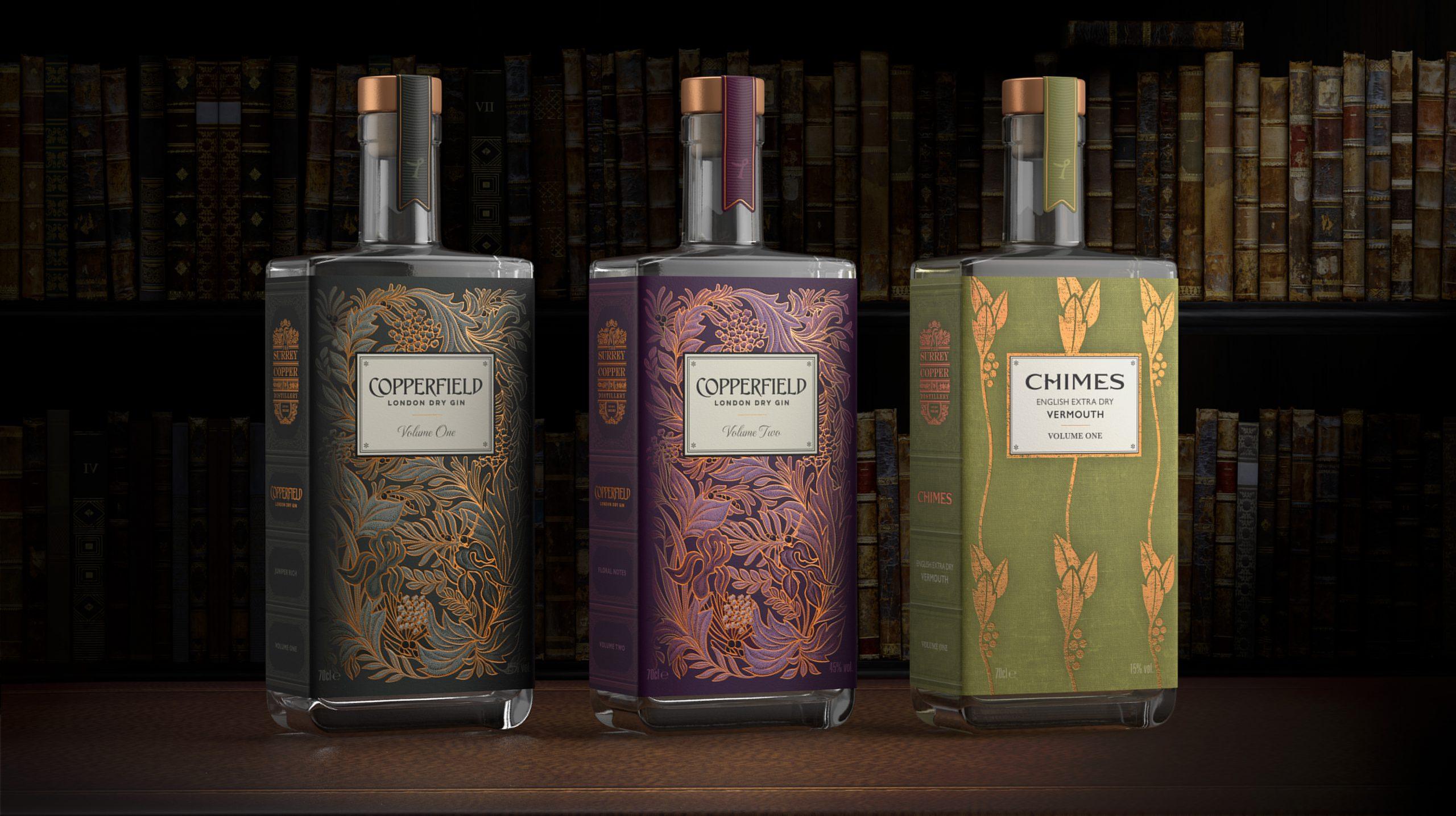 Nude Brand Creation – The Surrey Copper Distillery