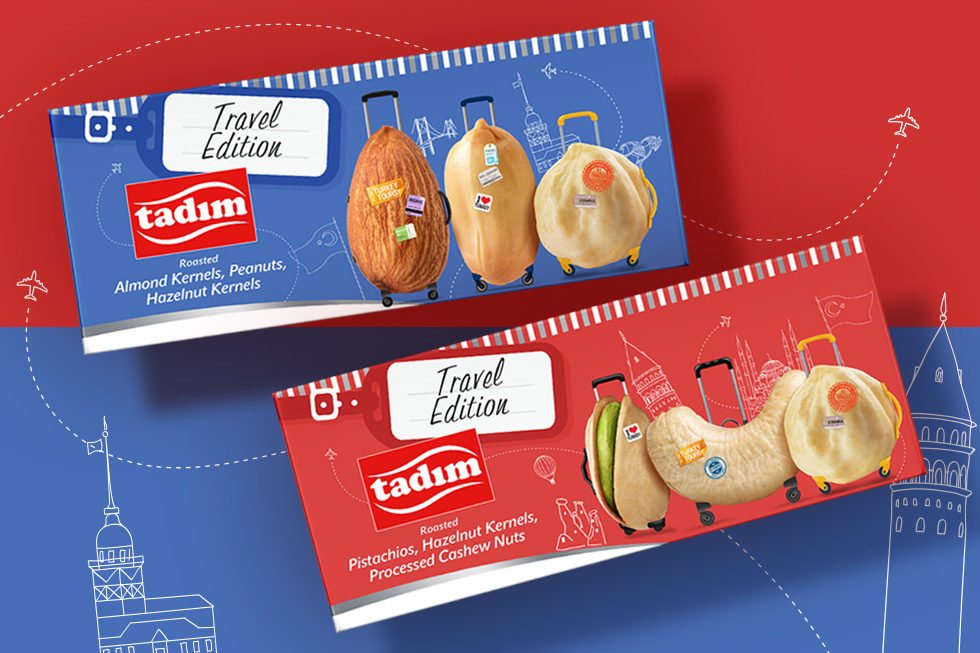 Tadım Travel Edition Packaging Design from Orhan Irmak Tasarim