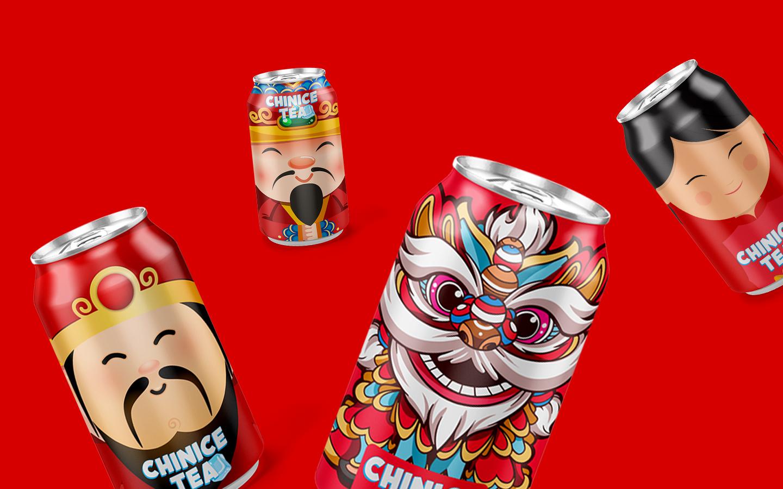 Chinice Tea Packaging