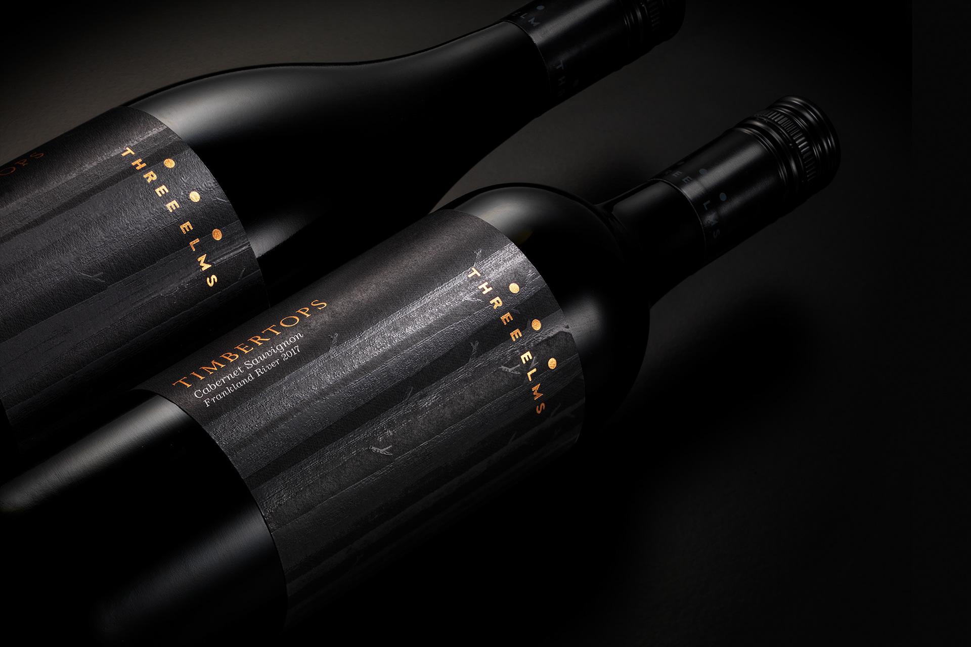 Three Elms Wine Lables
