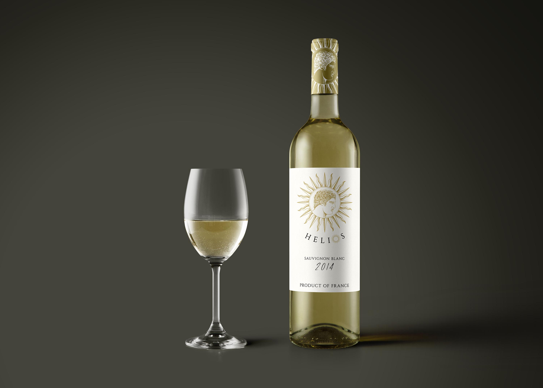 HELIOS – Sauvignon Blanc Label Design