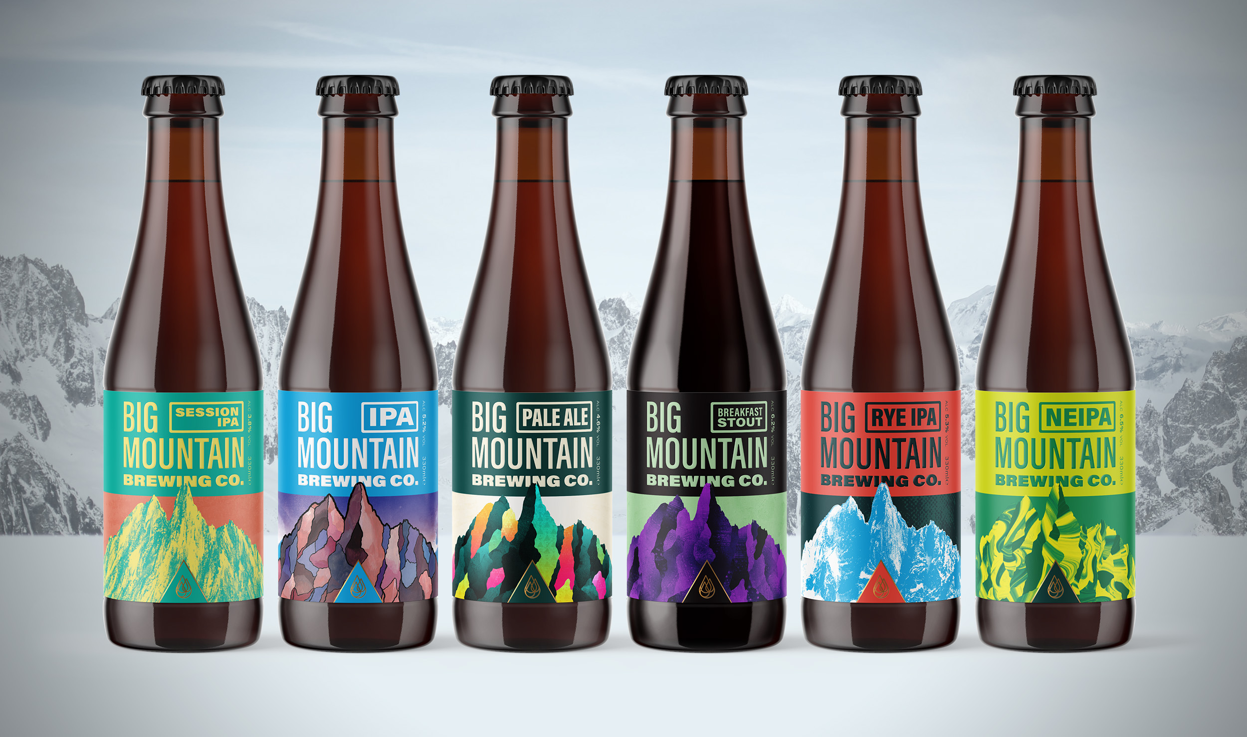 Brewed for adventure, Big Mountain Brewing Co.