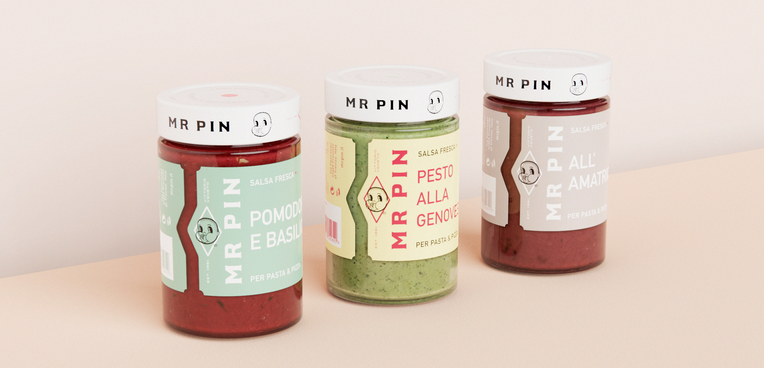 Product Identity for Italian Pasta and Pizza Sauce