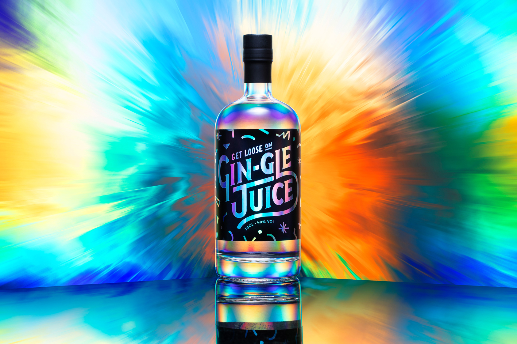 Agency Decides to Get Loose with Gin-gle Juice as Thank You to Clients