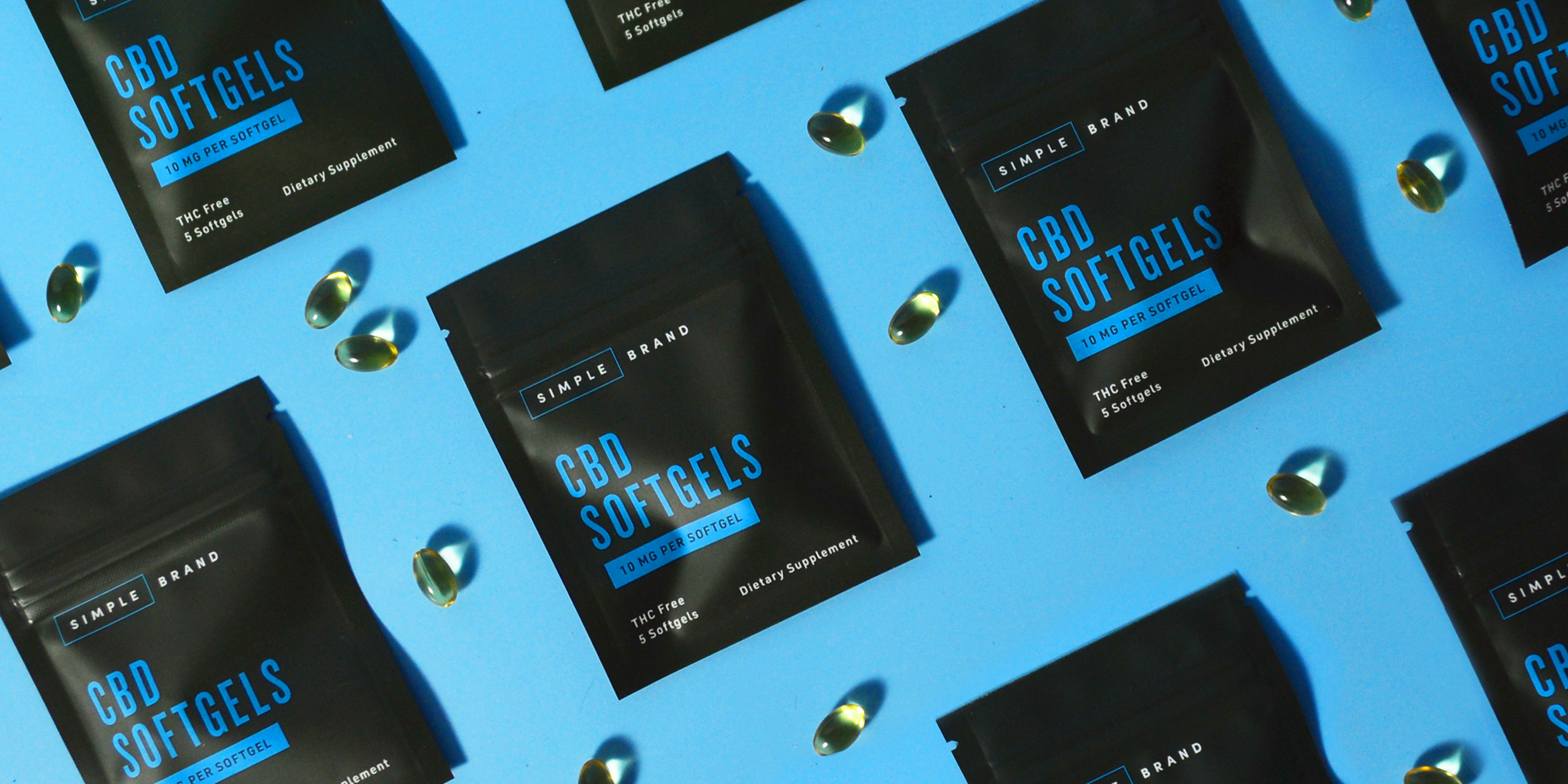 Simple Brand CBD Packaging and Brand Identity
